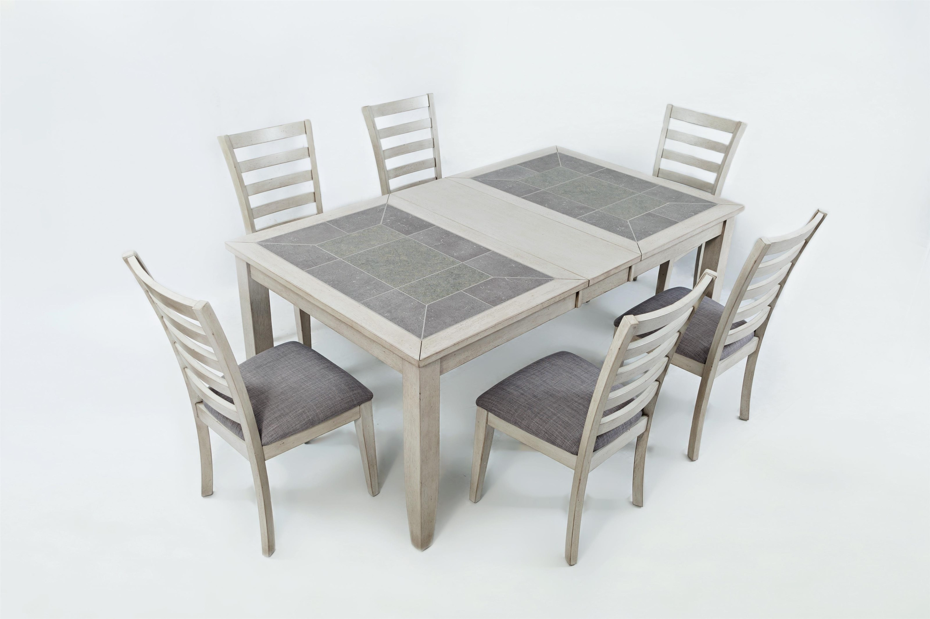 Table And Chair Sets | Dayton, Cincinnati, Columbus, Ohio, Northern With 2018 Craftsman 5 Piece Round Dining Sets With Uph Side Chairs (Image 19 of 20)