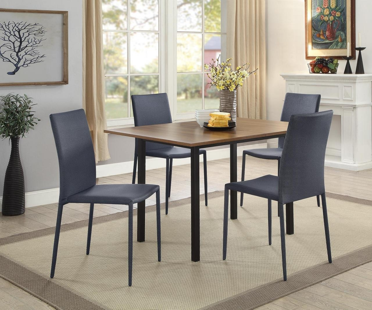 Table And Chair Sets Kitchen Appliances, Furniture, And Mattress In Regarding 2018 Market 7 Piece Dining Sets With Side Chairs (View 9 of 20)