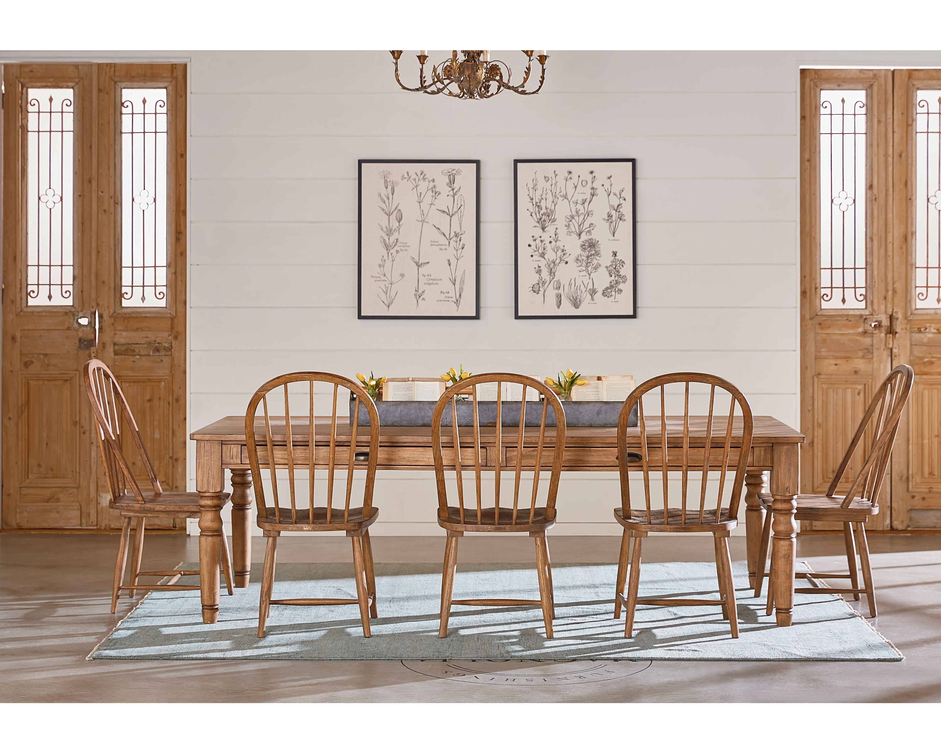 Taper Turned Dining Table – Magnolia Home For Most Recent Magnolia Home Bench Keeping 96 Inch Dining Tables (Image 17 of 20)