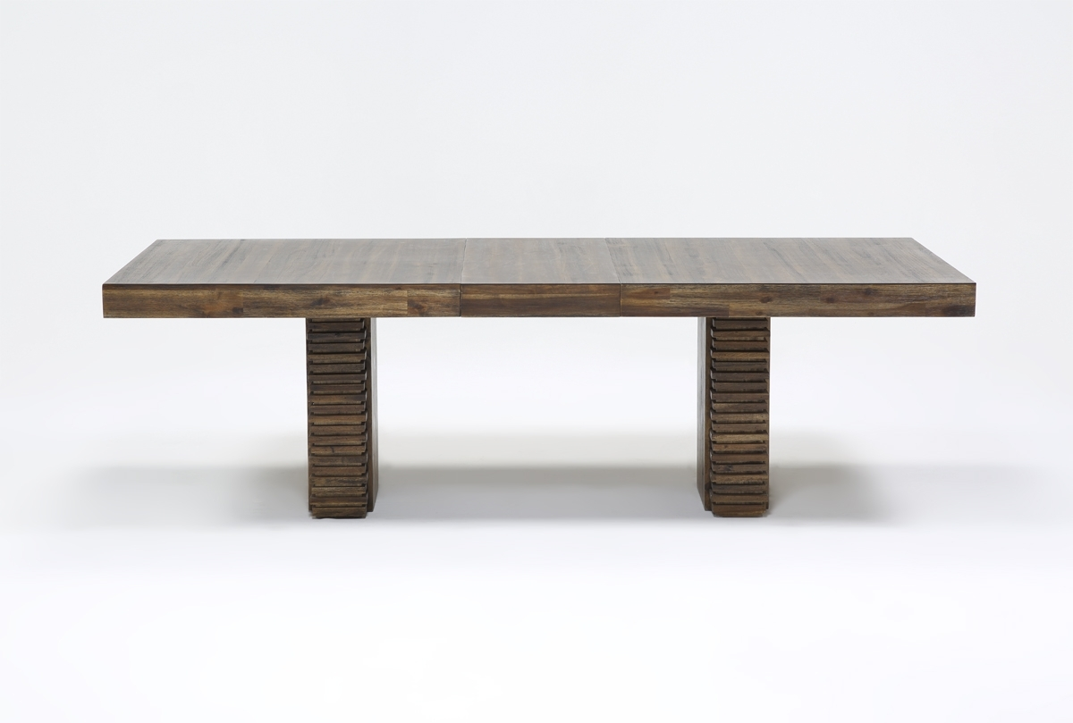Teagan Extension Dining Table | Living Spaces Inside Most Popular Teagan Extension Dining Tables (Photo 3 of 20)