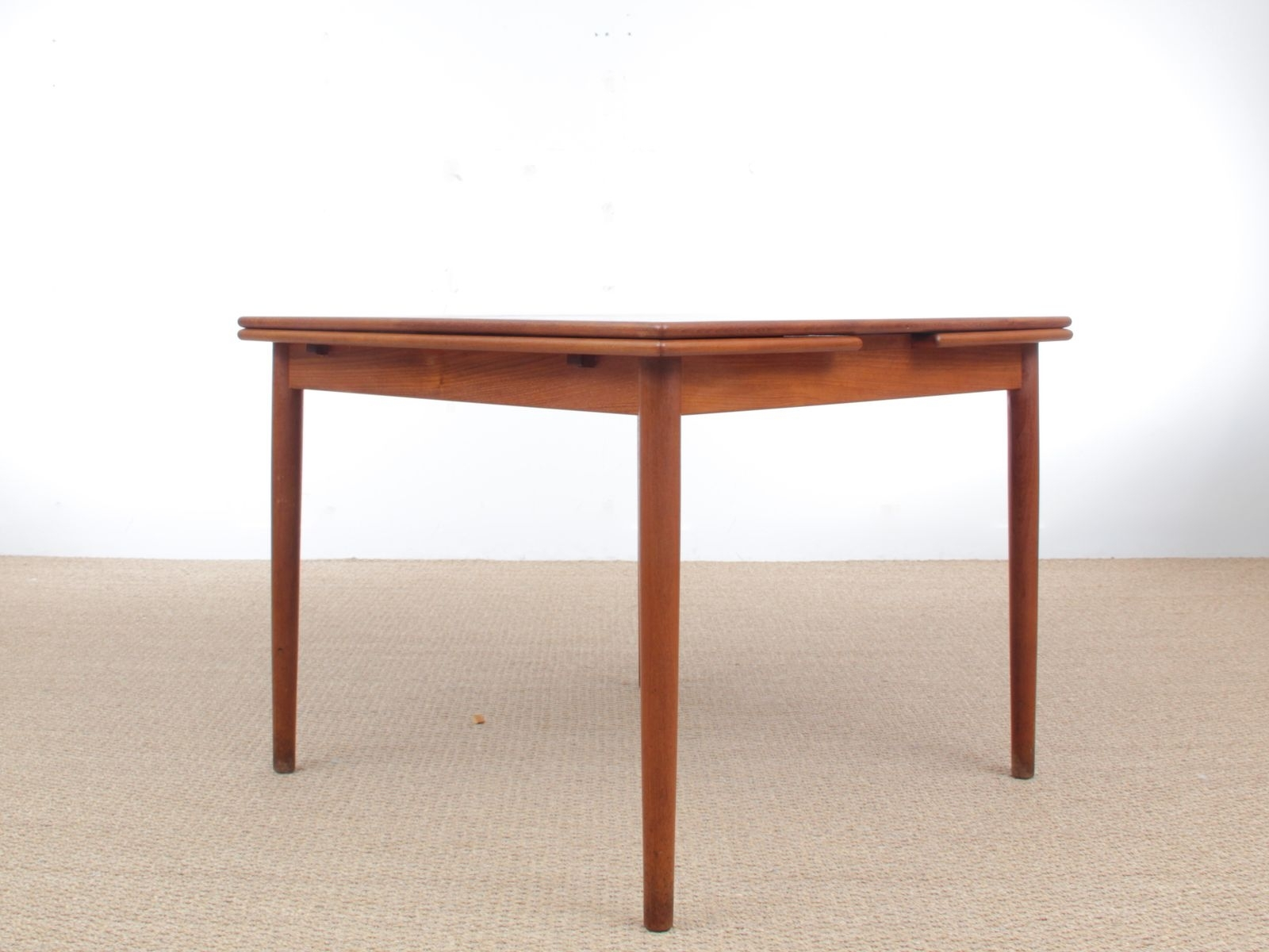 Teak Dining Table, 1960S For Sale At Pamono Inside Most Recent Lassen Extension Rectangle Dining Tables (Image 16 of 20)