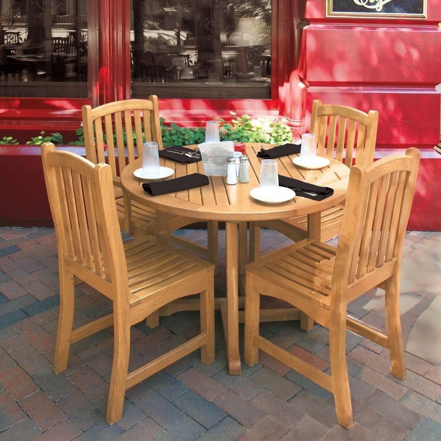 Teak Dining Tables – Chelmsford 43 In (View 4 of 20)