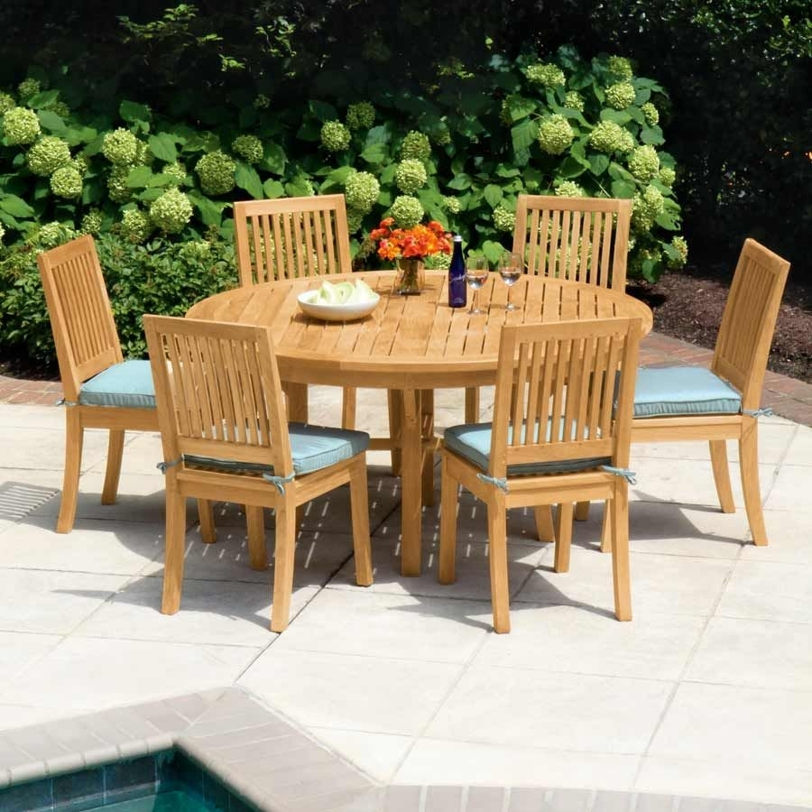 Teak Dining Tables – Seneca® 59 In (View 20 of 20)