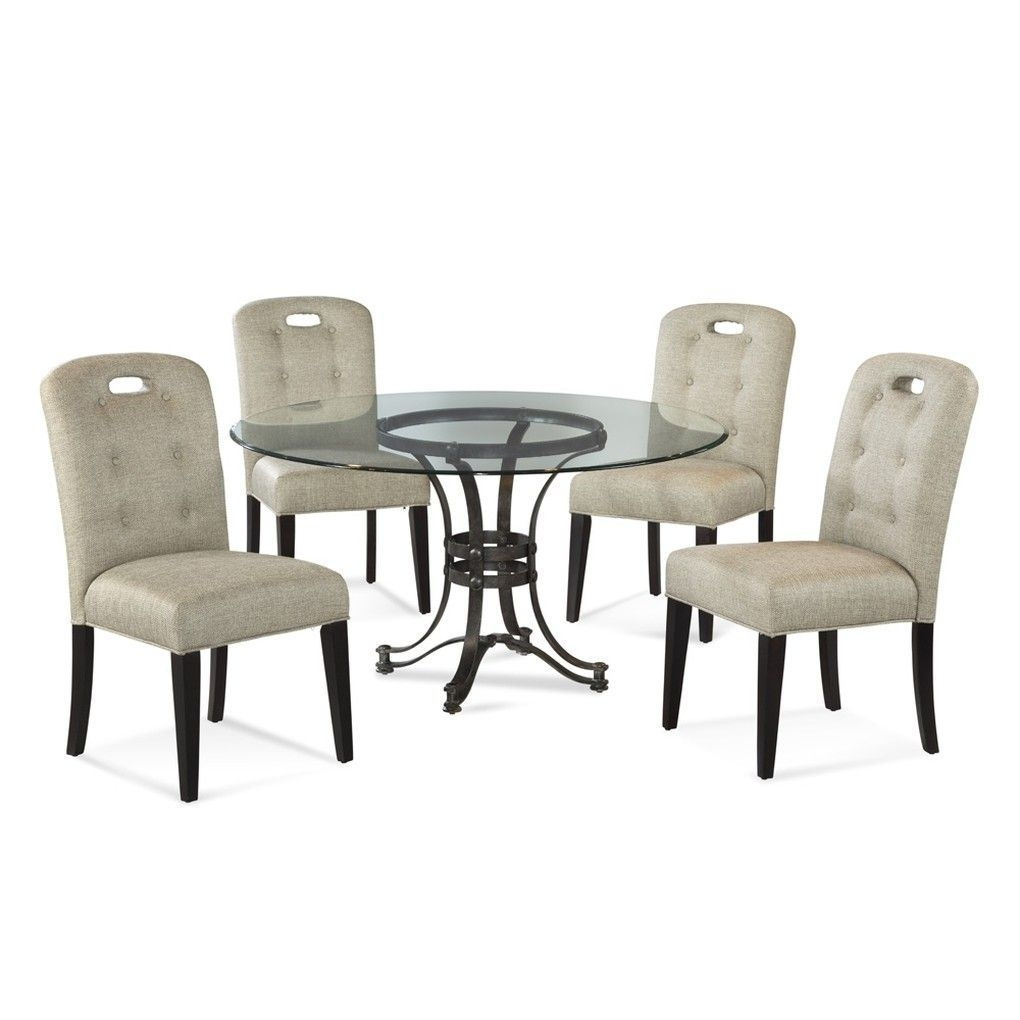 Tempe Round Dining Table | Round Dining Table Intended For Most Recently Released Candice Ii 5 Piece Round Dining Sets With Slat Back Side Chairs (View 15 of 20)