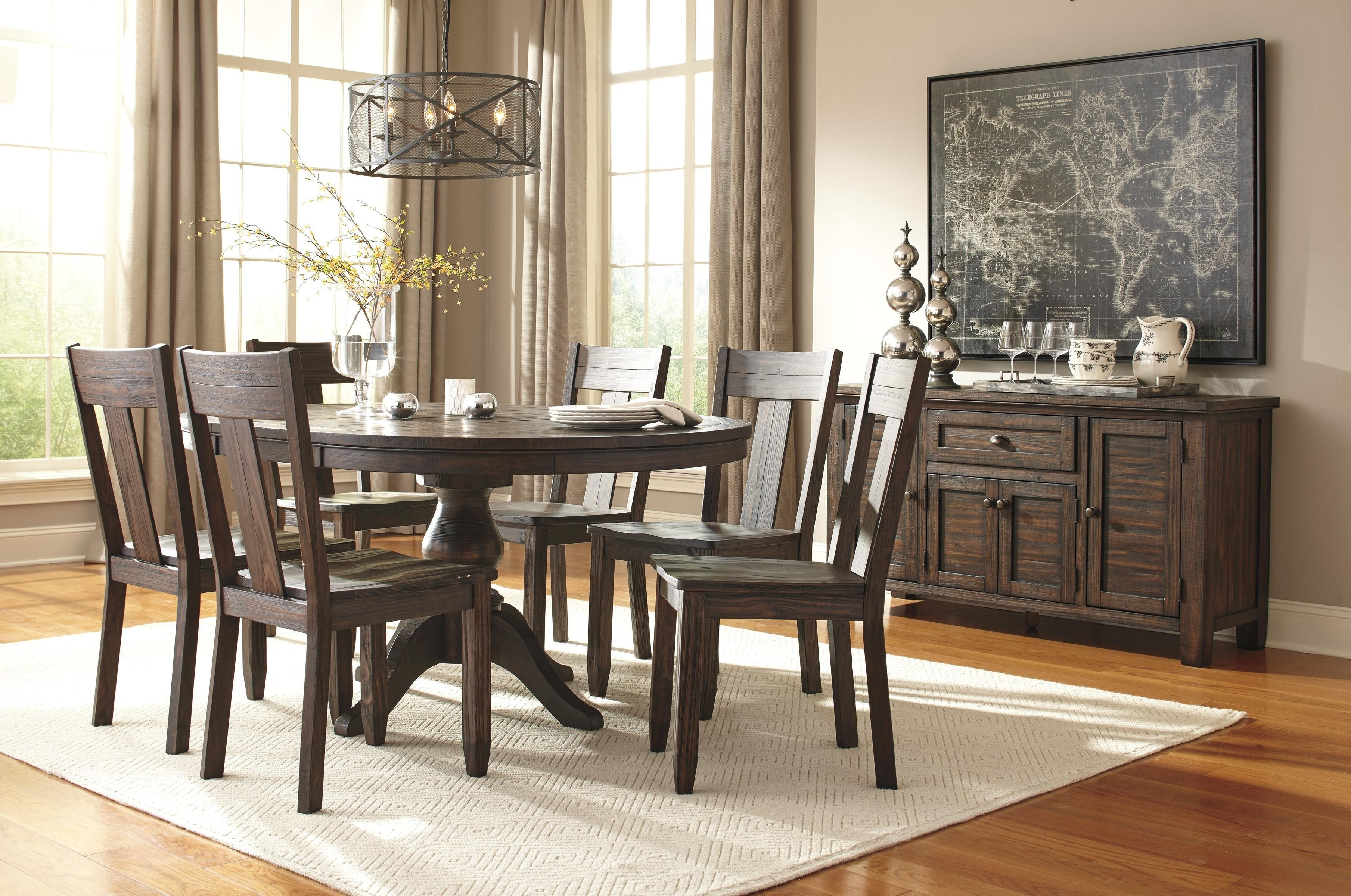 Tempting Table Piece Set Partridge Living Spaces Decor Table Piece For 2018 Caden Round Dining Tables (Image 20 of 20)