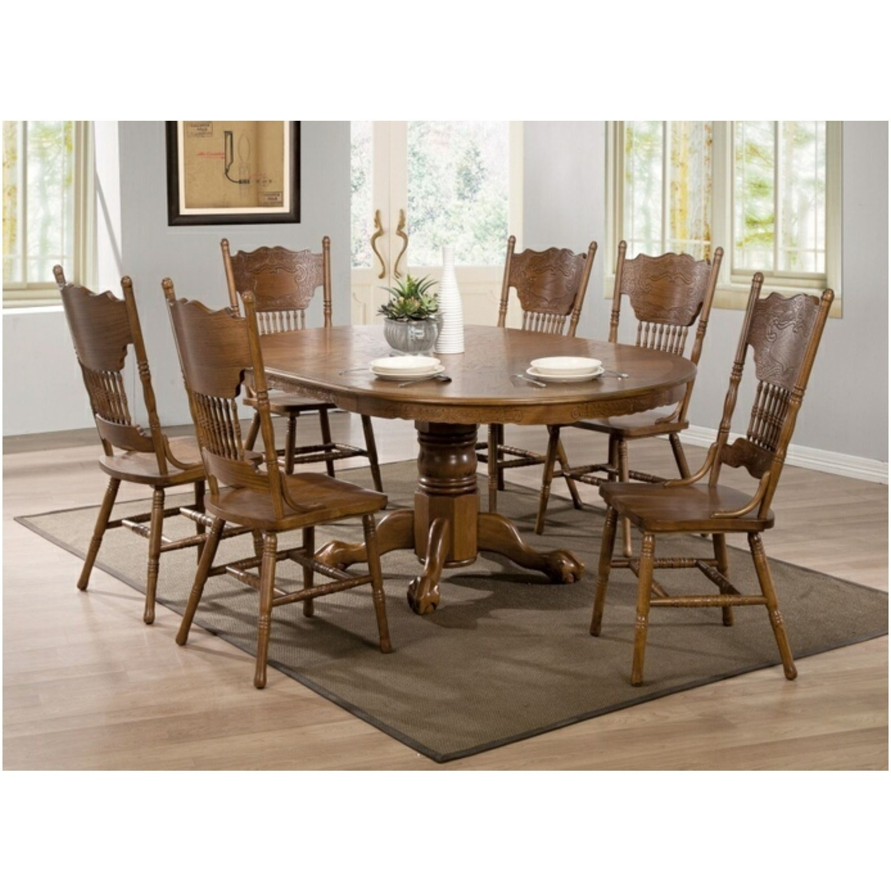 The 28 Awesome Coaster Mission Style Dining Table – Welovedandelion Intended For 2017 Craftsman 7 Piece Rectangle Extension Dining Sets With Side Chairs (Photo 9 of 20)