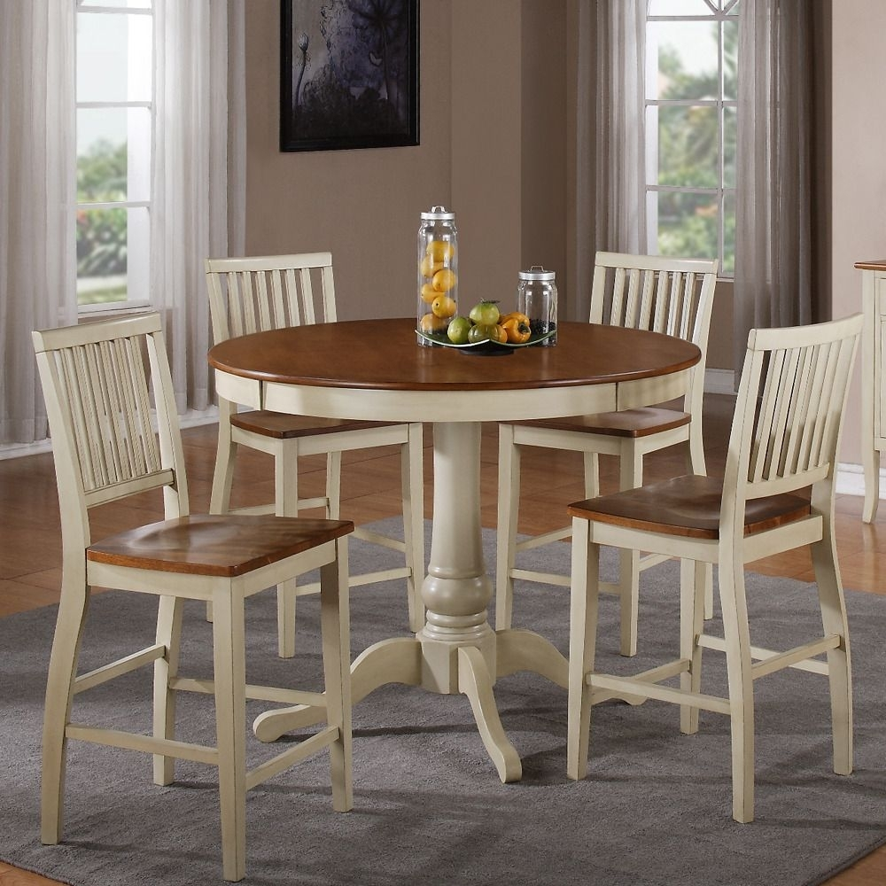The Candice Collection Offers Country Style Simplicity, Transforming Pertaining To Recent Candice Ii 5 Piece Round Dining Sets With Slat Back Side Chairs (Image 20 of 20)