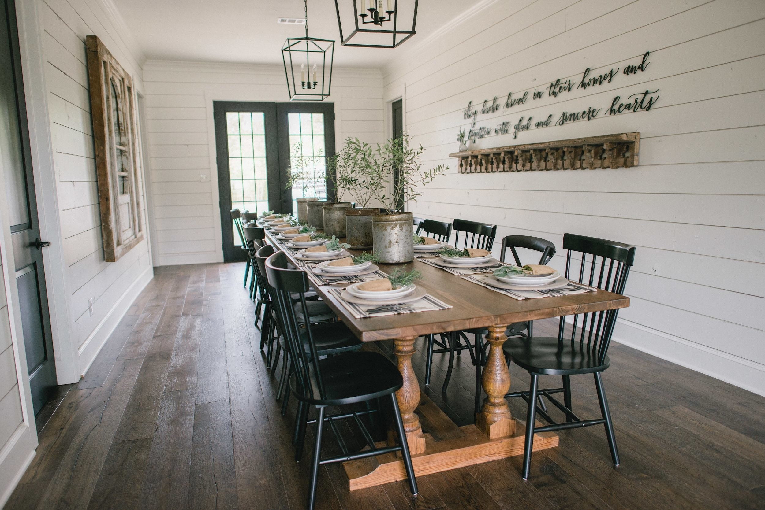 The Definitive Ranking Of Joanna Gaines' Best 'fixer Upper' Homes For Best And Newest Magnolia Home Prairie Dining Tables (Image 19 of 20)