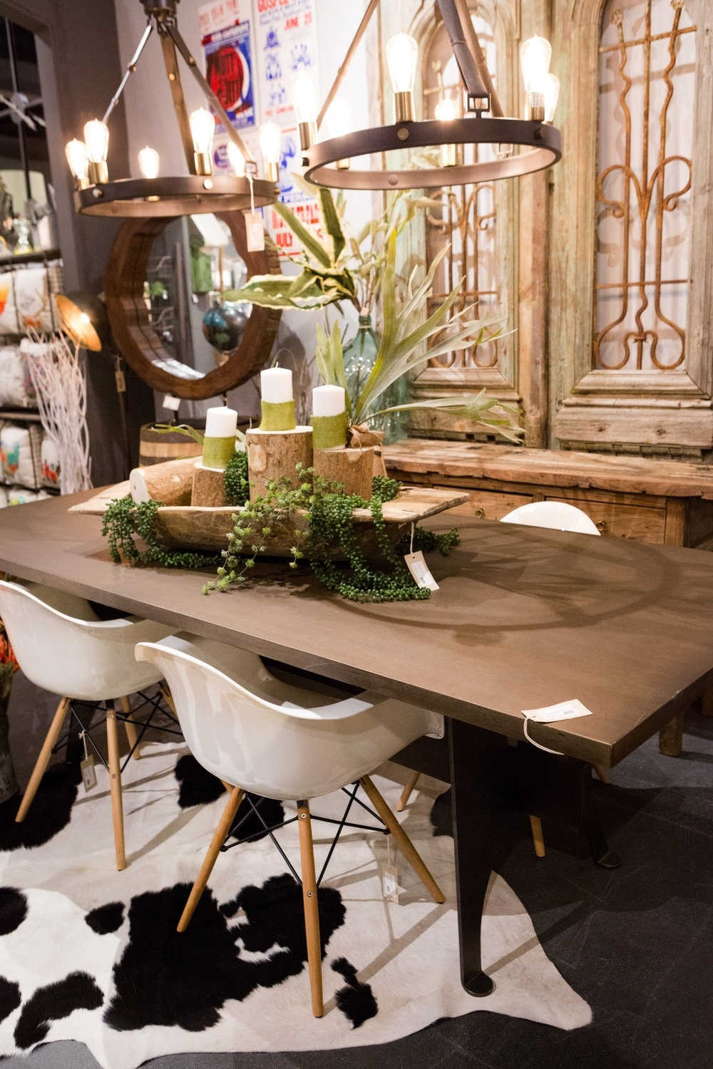 The Dining Table — Elm & Iron With Regard To Most Popular Mango Wood/iron Dining Tables (Image 20 of 20)