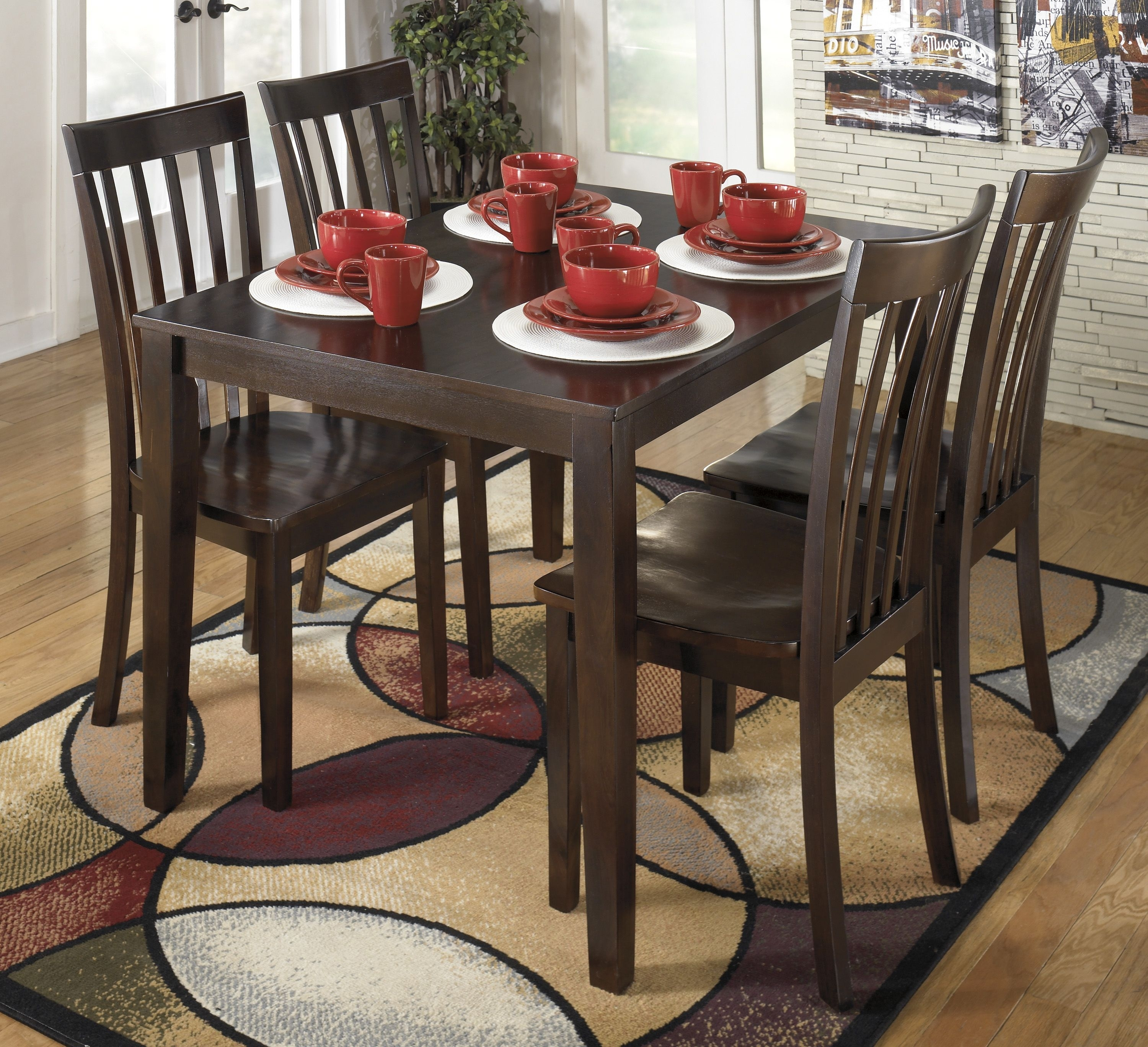 "The 'hyland' 36"" X 48"" Table & 4 Chairs 