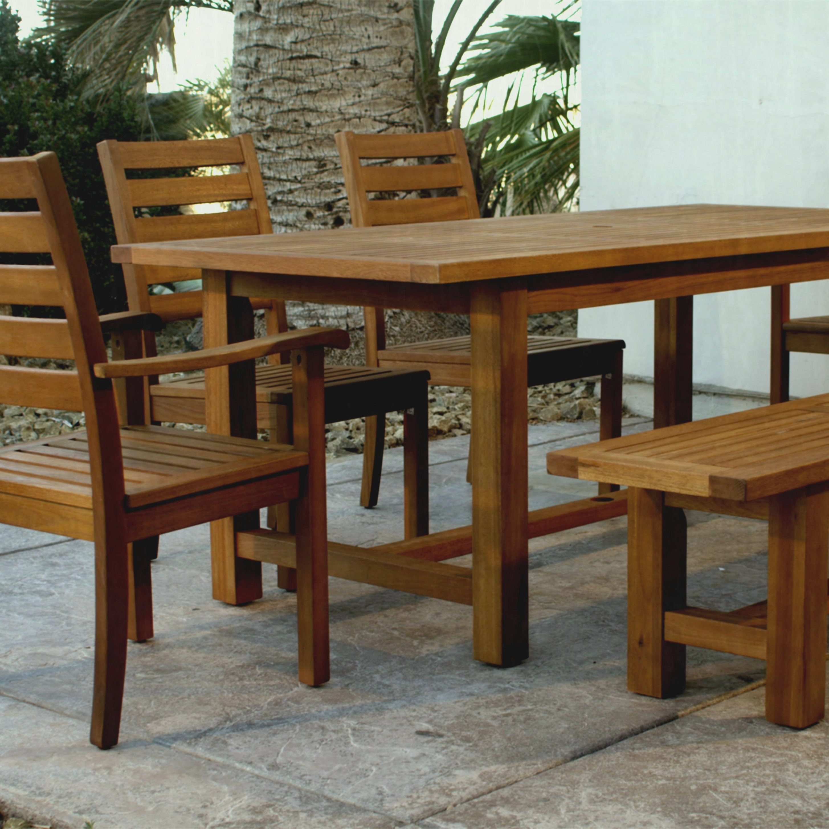 Thumb Img Wood Praiano Outdoor Dining Table World Market – Furniture For Most Current Market Dining Tables (View 9 of 20)