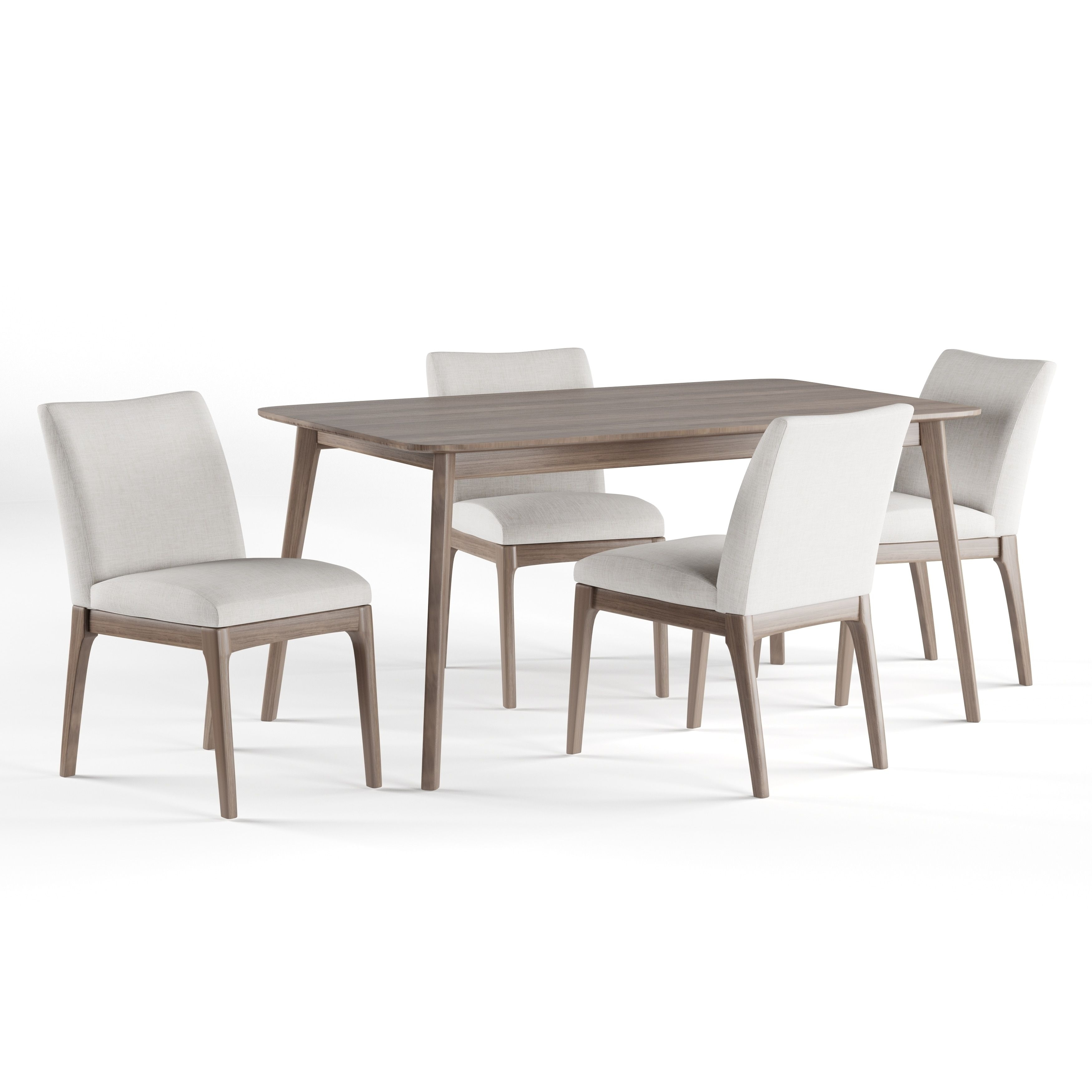 Toby 7 Piece Dining Setorren Ellis Reviews Regarding Most Recently Released Combs 5 Piece 48 Inch Extension Dining Sets With Mindy Side Chairs (Image 19 of 20)