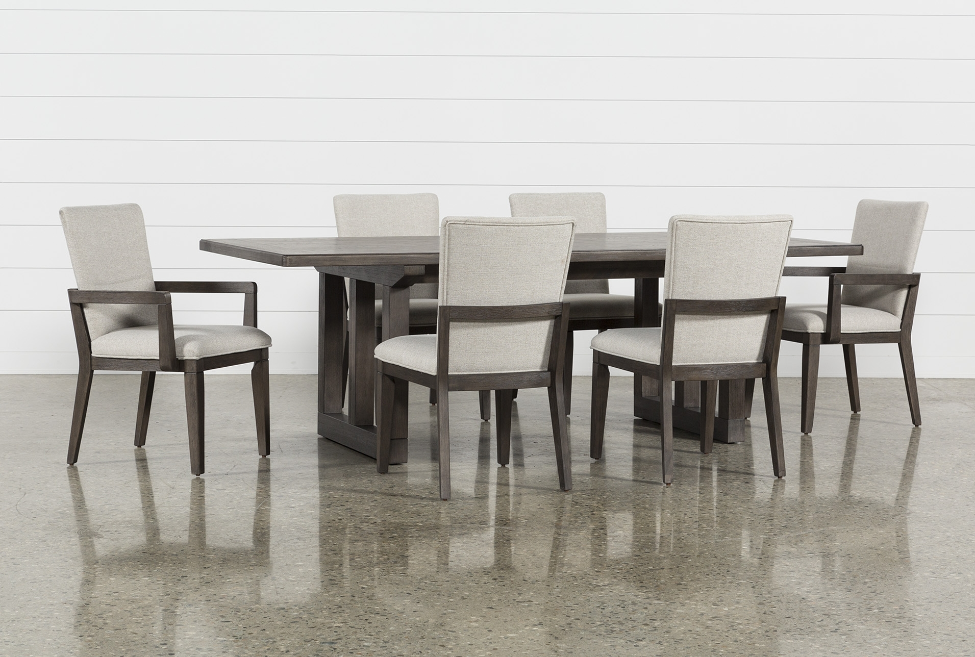 Toby 7 Piece Dining Setorren Ellis Reviews Within Most Up To Date Combs 5 Piece 48 Inch Extension Dining Sets With Mindy Side Chairs (View 13 of 20)
