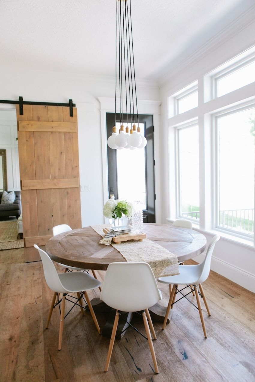 Top 10 Modern Round Dining Tables | Dining Room Ideas | Pinterest Within Latest Lassen Round Dining Tables (View 4 of 20)
