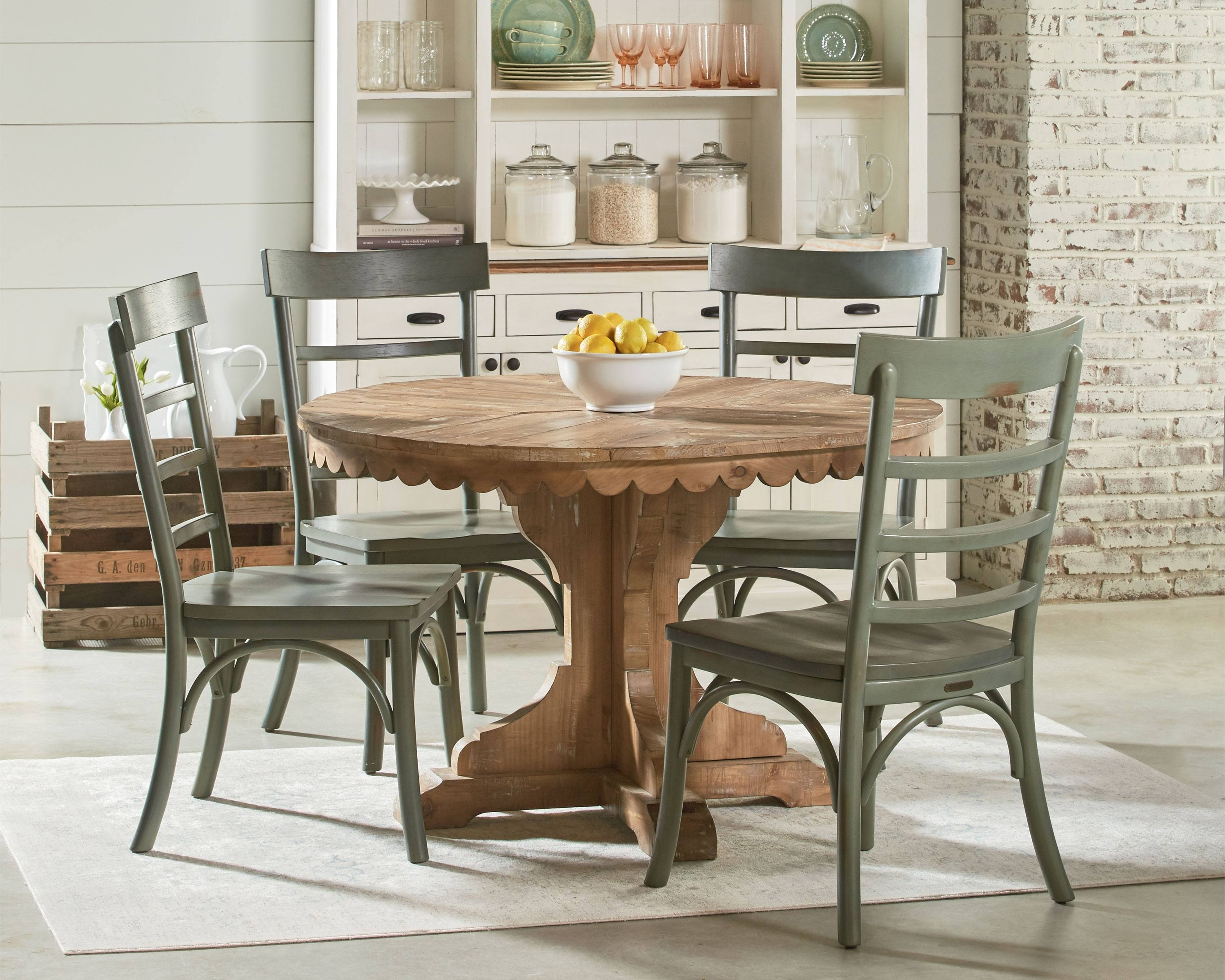 Featured Image of Magnolia Home Top Tier Round Dining Tables