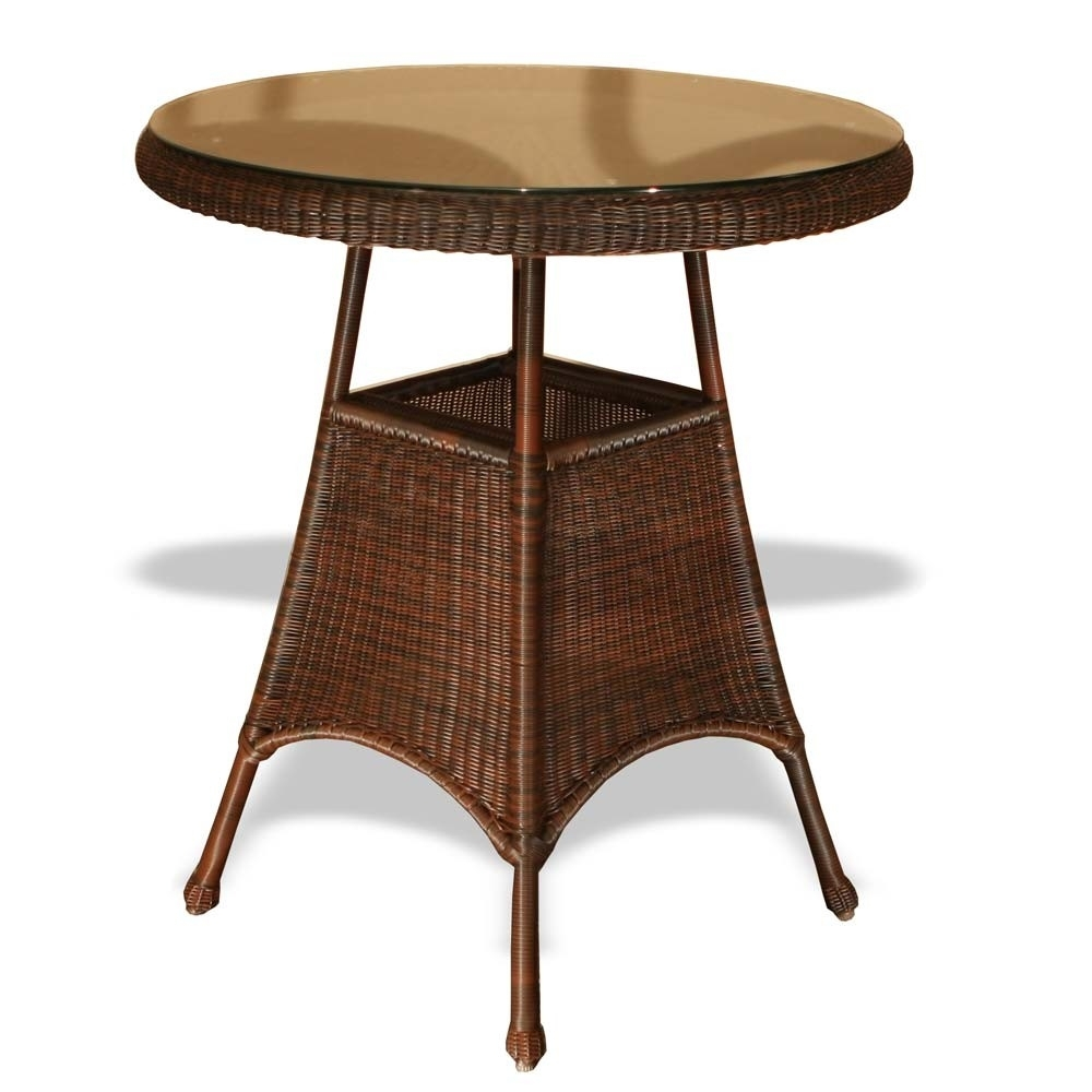 "Tortuga Outdoor Lexington 36"" Wicker Bar Table – Wicker For 2018 Outdoor Tortuga Dining Tables (View 8 of 20)"