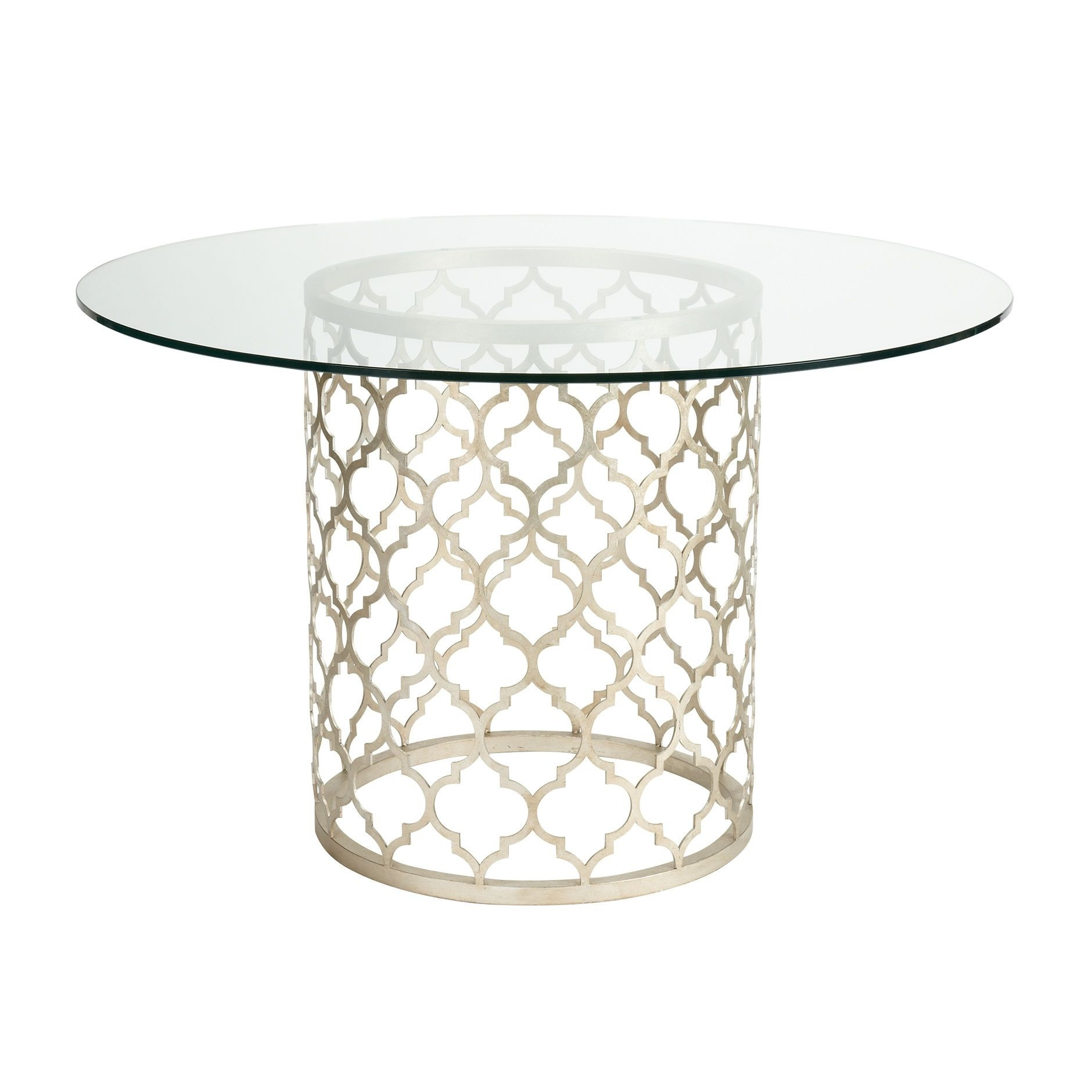 Tracery Dining Table – Ethan Allen Us. Round Glass Dining Tables Within Latest Norwood 7 Piece Rectangular Extension Dining Sets With Bench, Host & Side Chairs (Photo 16 of 20)