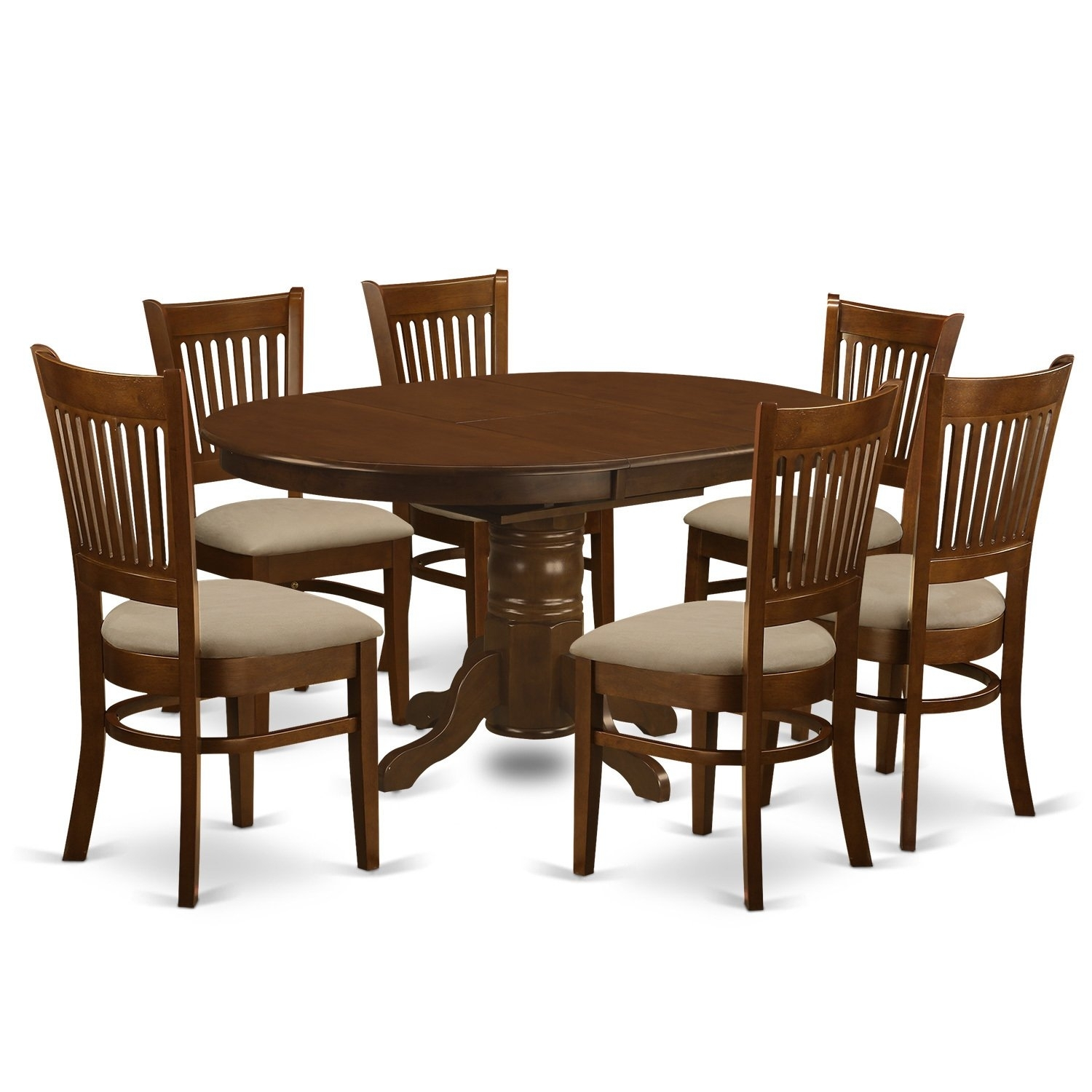 Traditional, Butterfly Leaf Kitchen & Dining Room Sets For Less Pertaining To Recent Helms 7 Piece Rectangle Dining Sets (Image 20 of 20)
