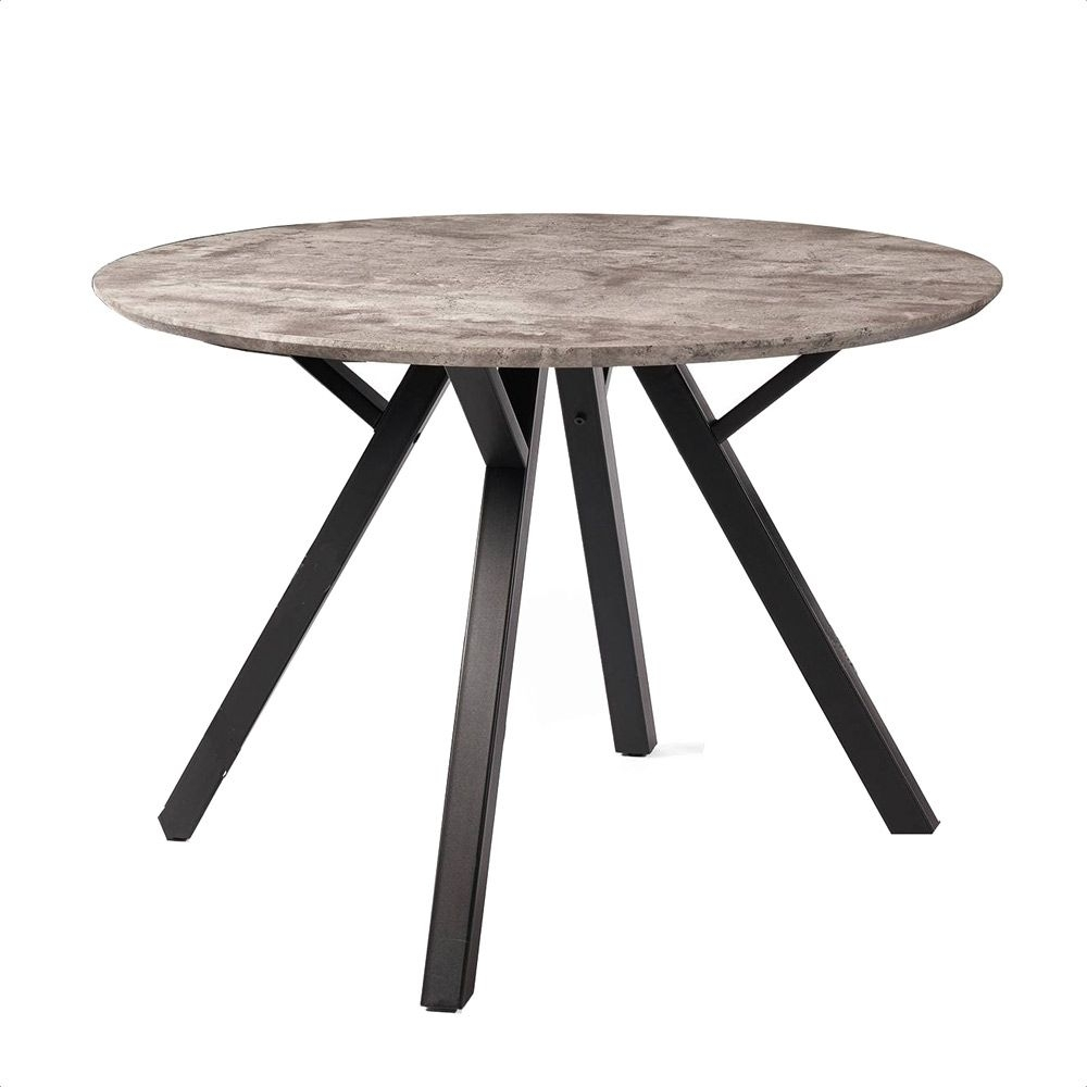 Trento Round Dining Table | Oldrids & Downtown Within Most Popular Laurent Round Dining Tables (Photo 17 of 20)
