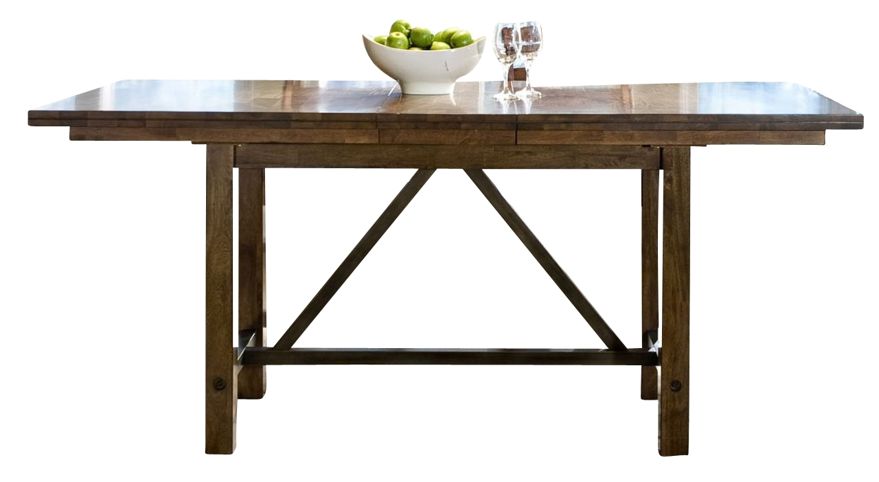 Trestle Dining Table In Dining Rooms Outlet In Best And Newest Valencia 72 Inch Extension Trestle Dining Tables (Image 14 of 20)