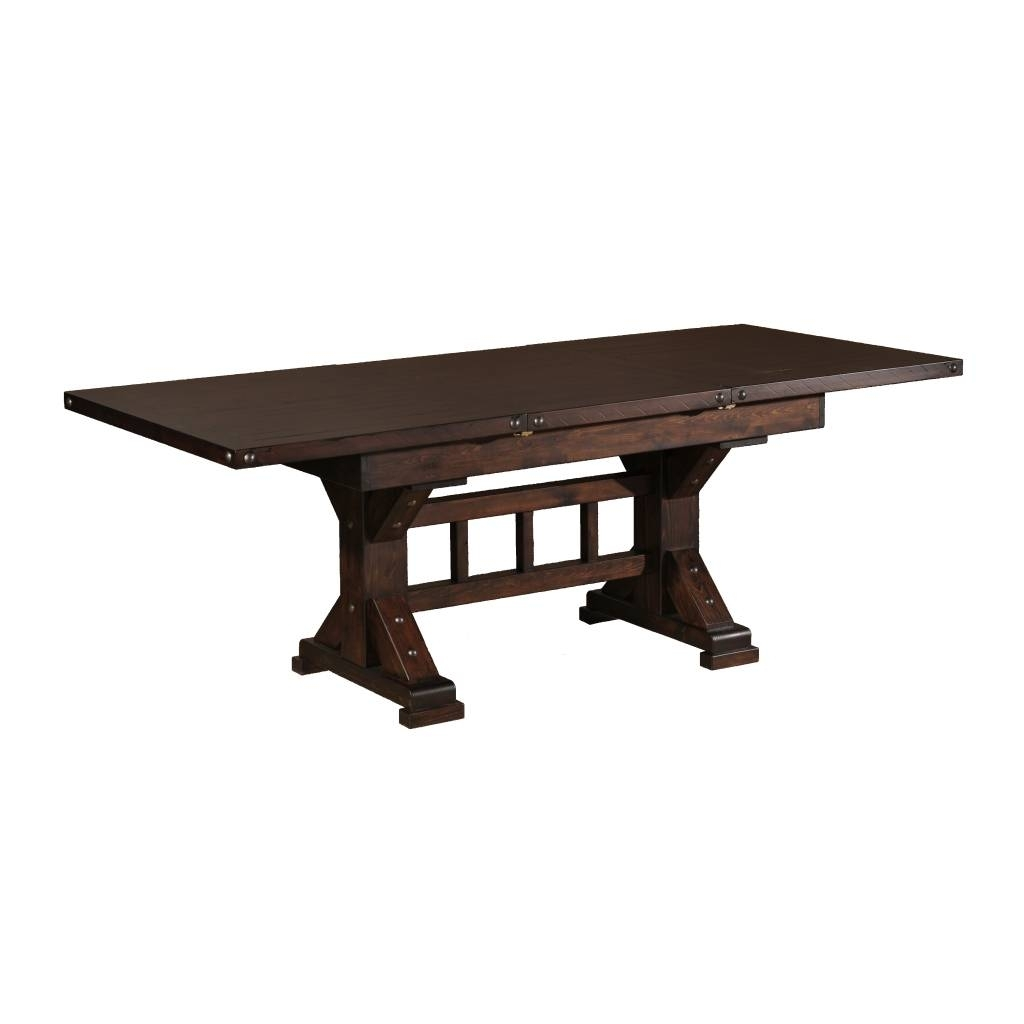 Trestle Extension Dining Table – Dining Tables Ideas Within 2017 Valencia 72 Inch Extension Trestle Dining Tables (Image 16 of 20)