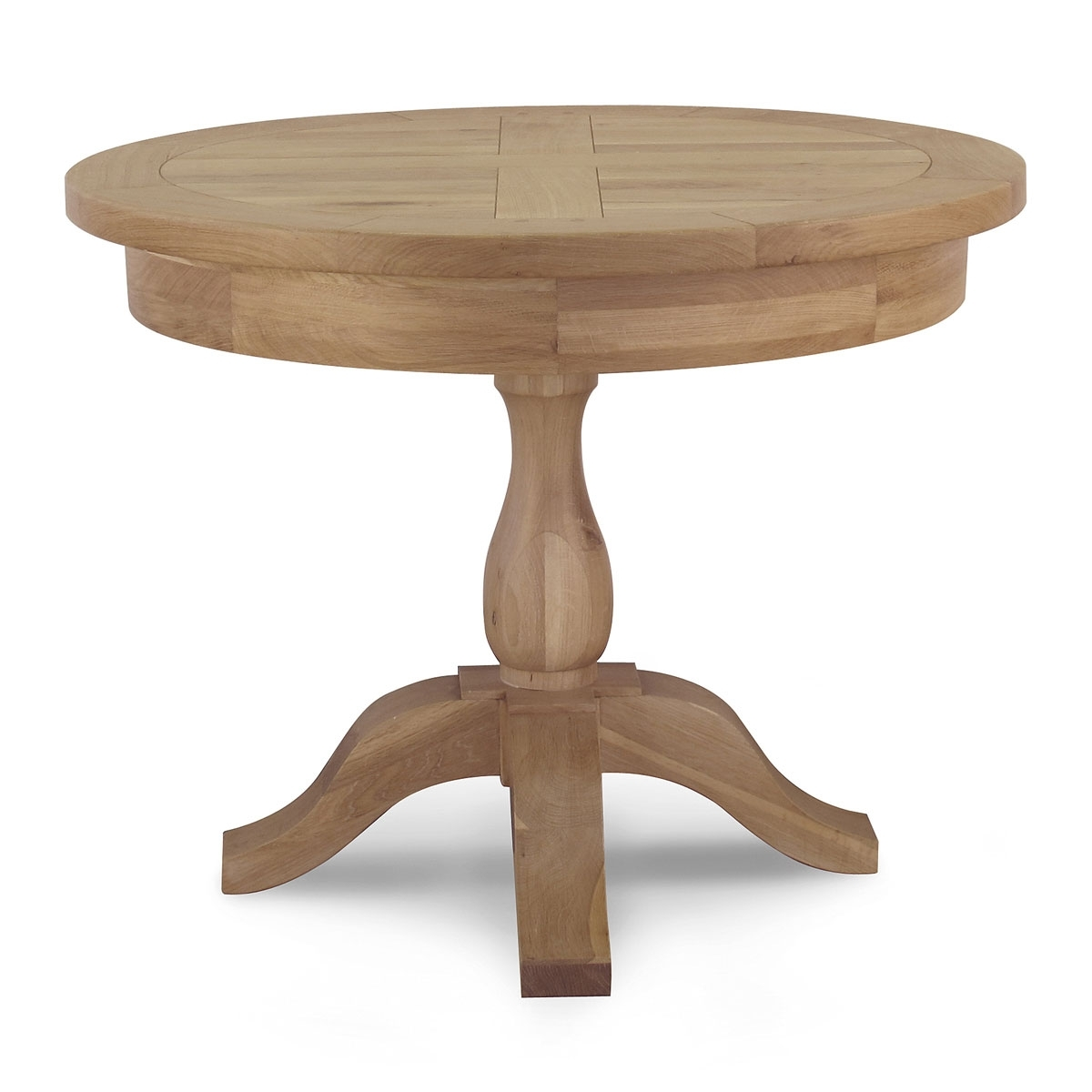 Tuscany Round Dining Table – Willis & Gambier Regarding 2017 Magnolia Home Top Tier Round Dining Tables (Image 20 of 20)