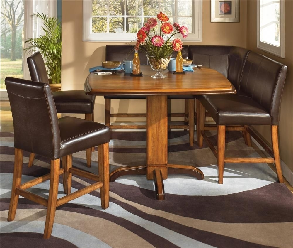 Urbandale (D193)Ashley Furniture – Wayside Furniture – Ashley Pertaining To Best And Newest Helms 5 Piece Round Dining Sets With Side Chairs (View 10 of 20)