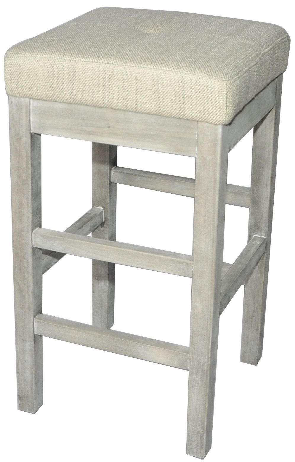 Valencia Backless Counter Stool Mystique Gray Legs, Canvas Within Most Up To Date Valencia 4 Piece Counter Sets With Bench & Counterstool (Photo 19 of 20)