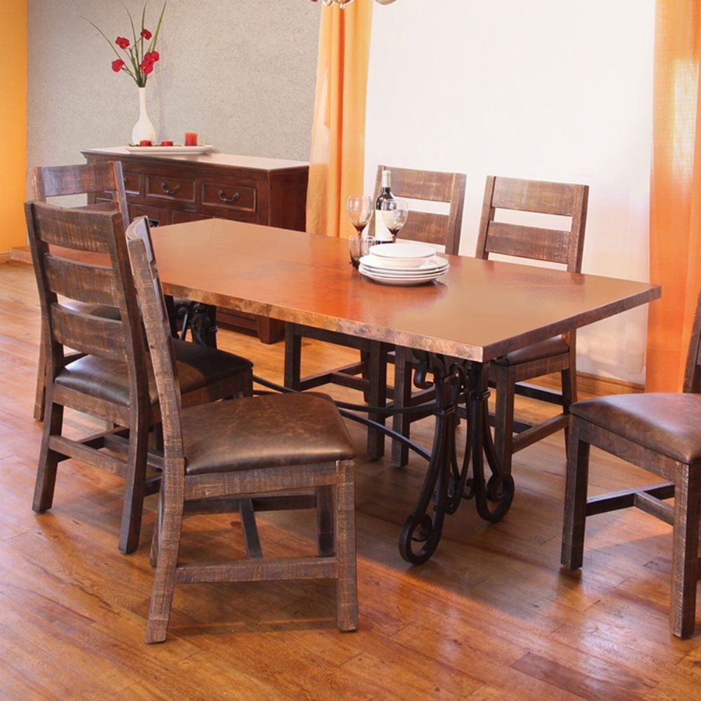 20 Best Ideas Valencia 72 Inch 7 Piece Dining Sets