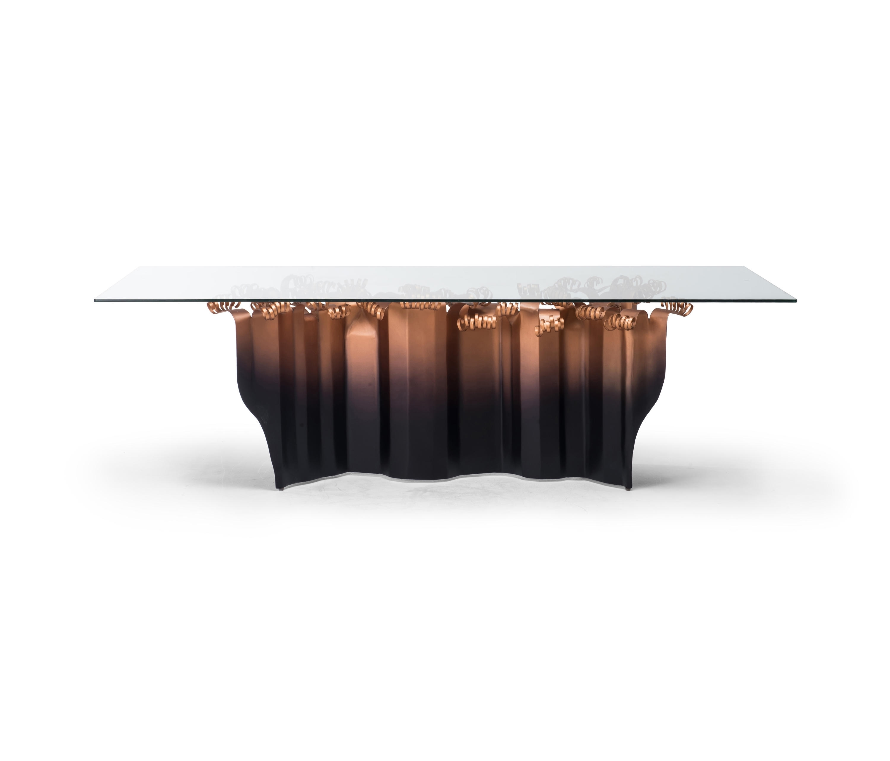 Vivo Dining Table – Dining Tables From Kenneth Cobonpue | Architonic Regarding 2017 Artisanal Dining Tables (View 18 of 20)