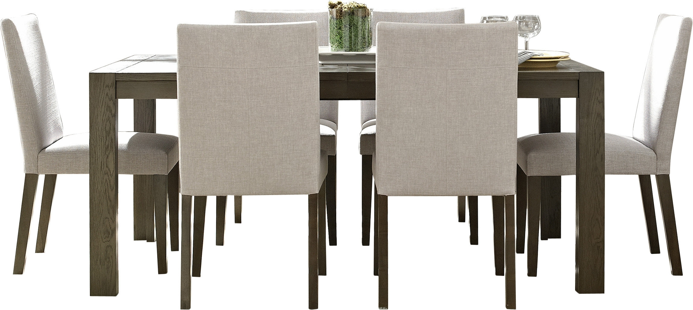 Wade Logan Girard 7 Piece Dining Set & Reviews | Wayfair Inside Most Popular Logan 7 Piece Dining Sets (Image 17 of 20)