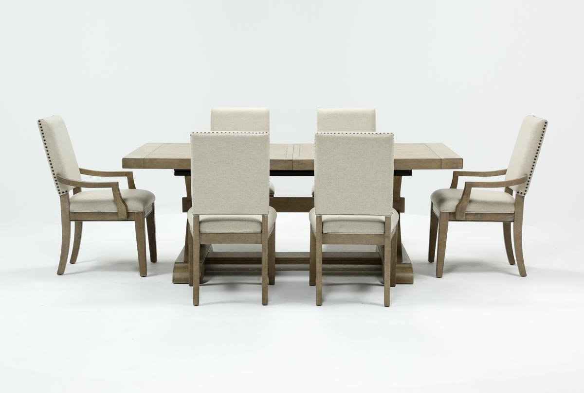 Featured Image of Walden 7 Piece Extension Dining Sets