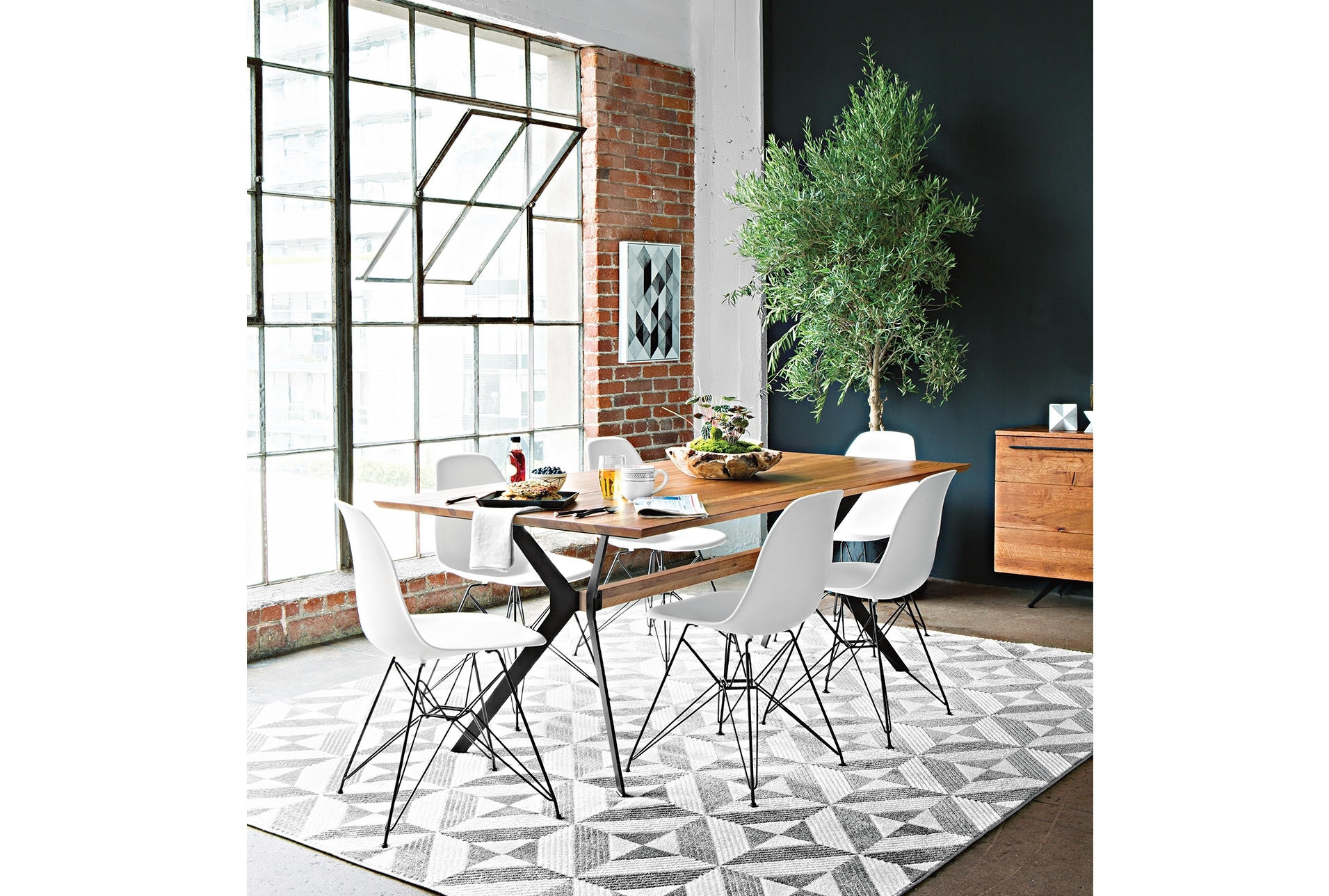 Weaver Dining Table | Furniture Ideas, Apartments And Interiors Regarding Most Up To Date Weaver Ii Dining Tables (View 3 of 20)