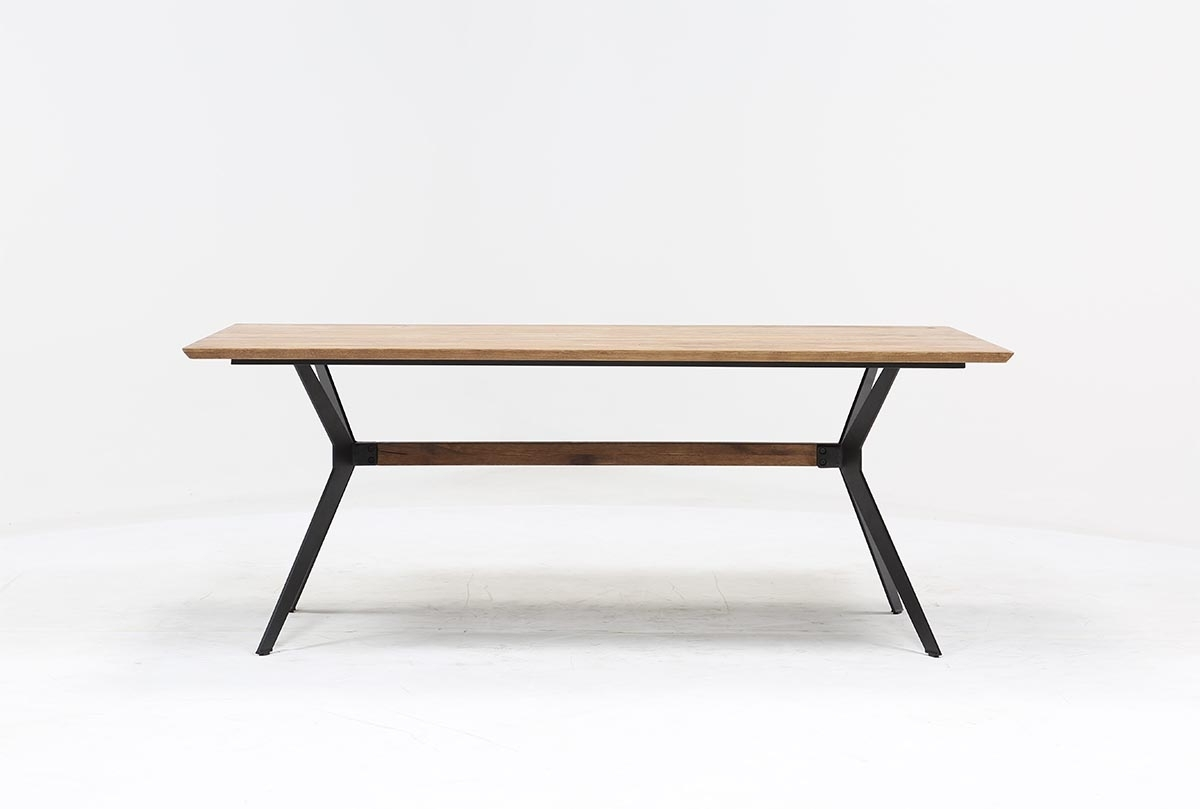 Weaver Dining Table | Living Spaces Pertaining To 2018 Weaver Ii Dining Tables (View 2 of 20)
