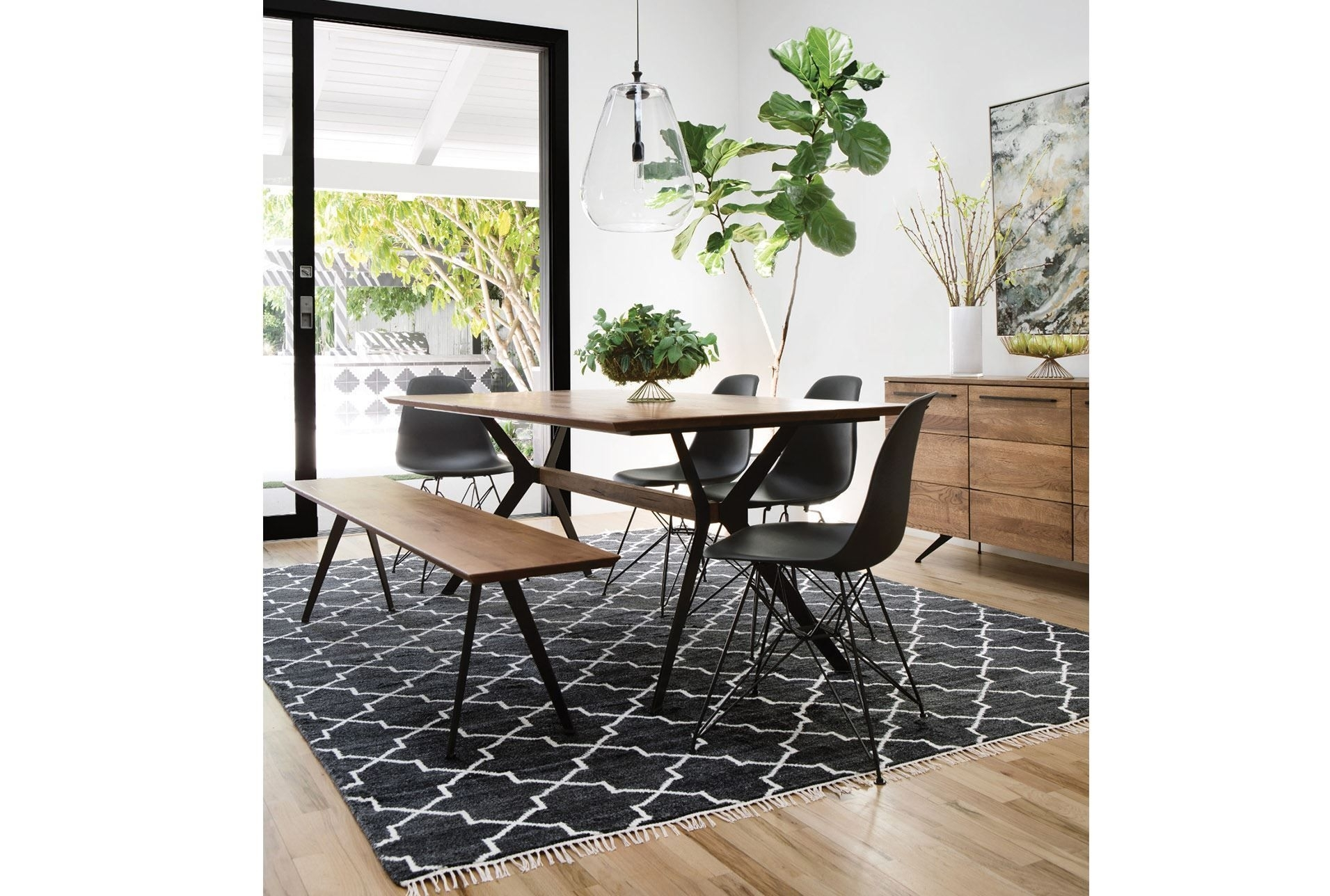 Weaver Dining Table | Pandora Interior | Pinterest | Living Spaces Regarding Most Recently Released Weaver Ii Dining Tables (View 4 of 20)