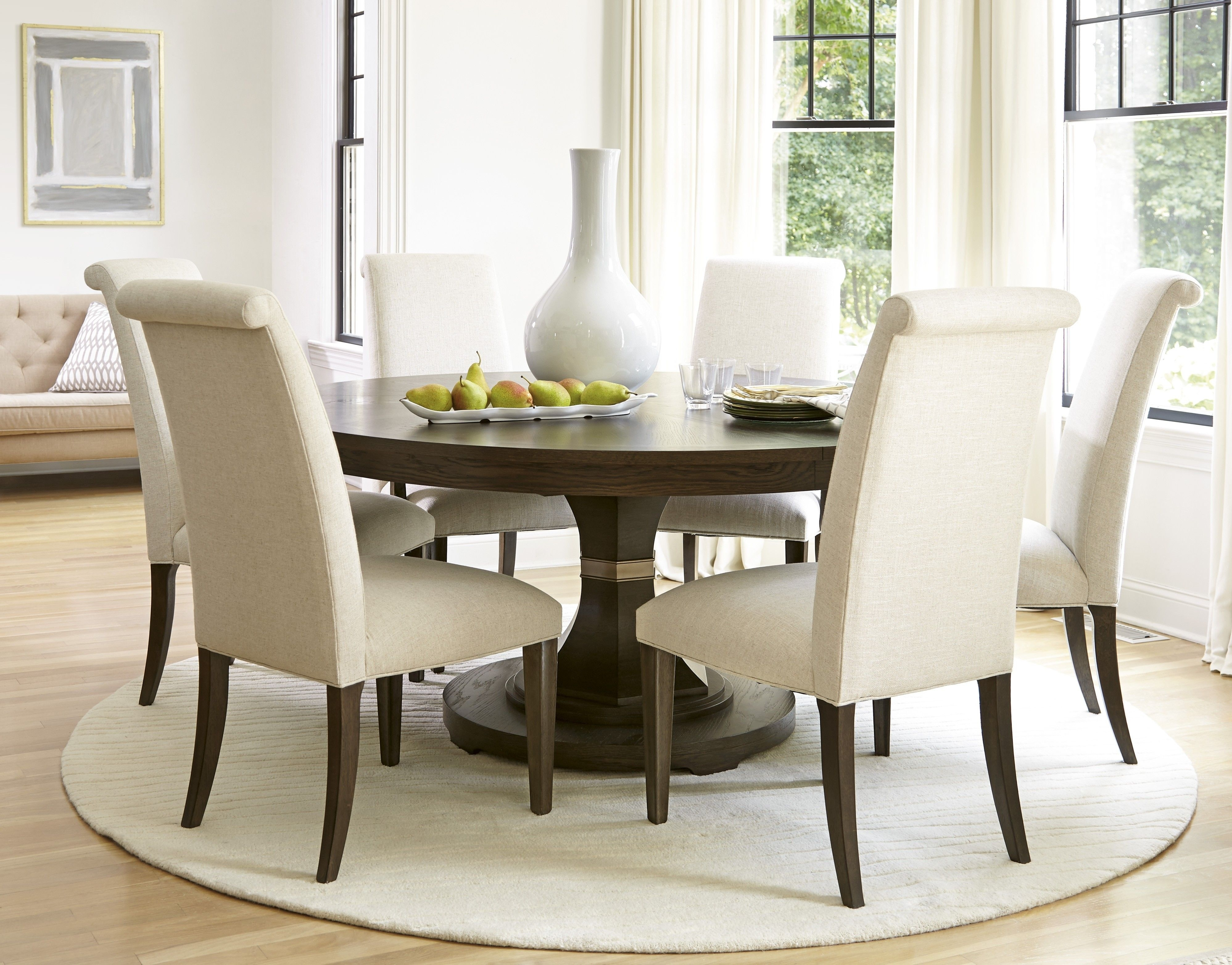 Featured Image of Craftsman 9 Piece Extension Dining Sets With Uph Side Chairs