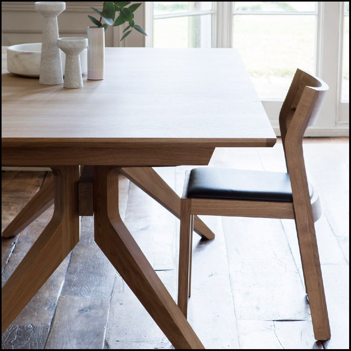 Wonderfull Case Cross Extending Dining Table Heal With Extension Within Most Recent Chandler Extension Dining Tables (View 4 of 20)