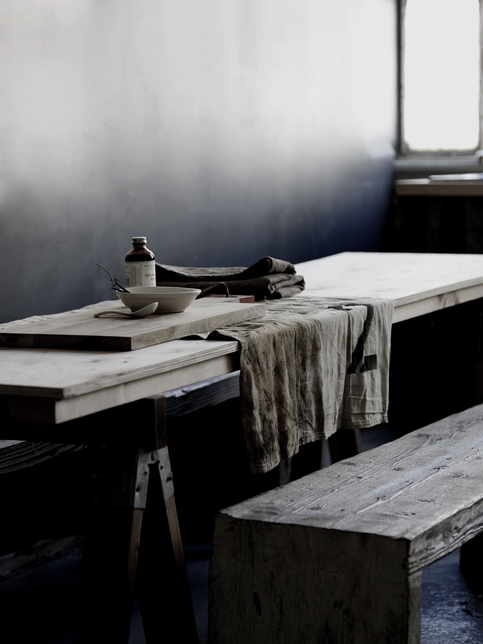 Wood & Grey | For The Home | Pinterest | Woods, Gray And Wabi Sabi Intended For Newest Bale Rustic Grey Dining Tables (Image 20 of 20)