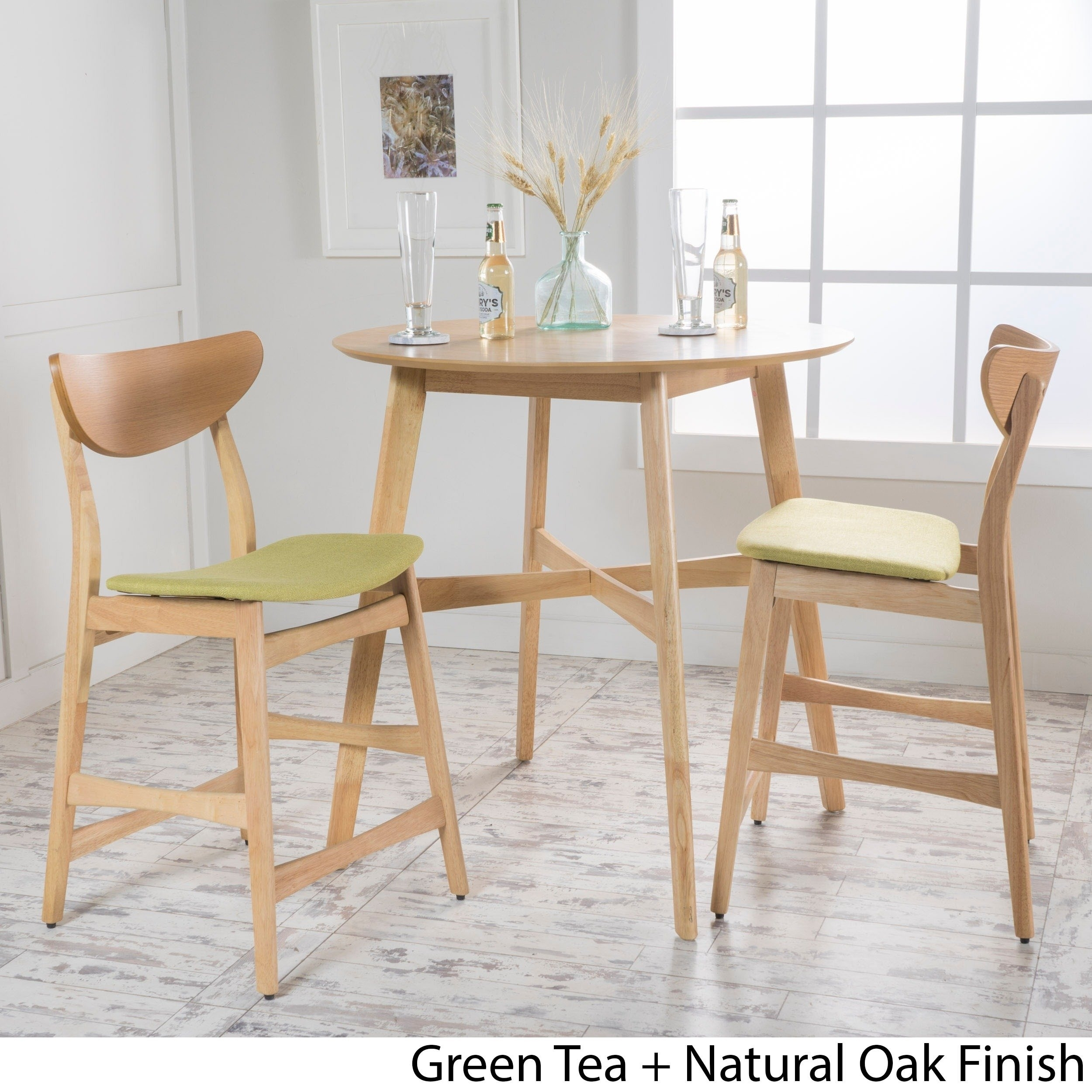 Wood, Mid Century Modern Kitchen & Dining Room Sets For Less Intended For 2017 Gavin 7 Piece Dining Sets With Clint Side Chairs (Image 20 of 20)