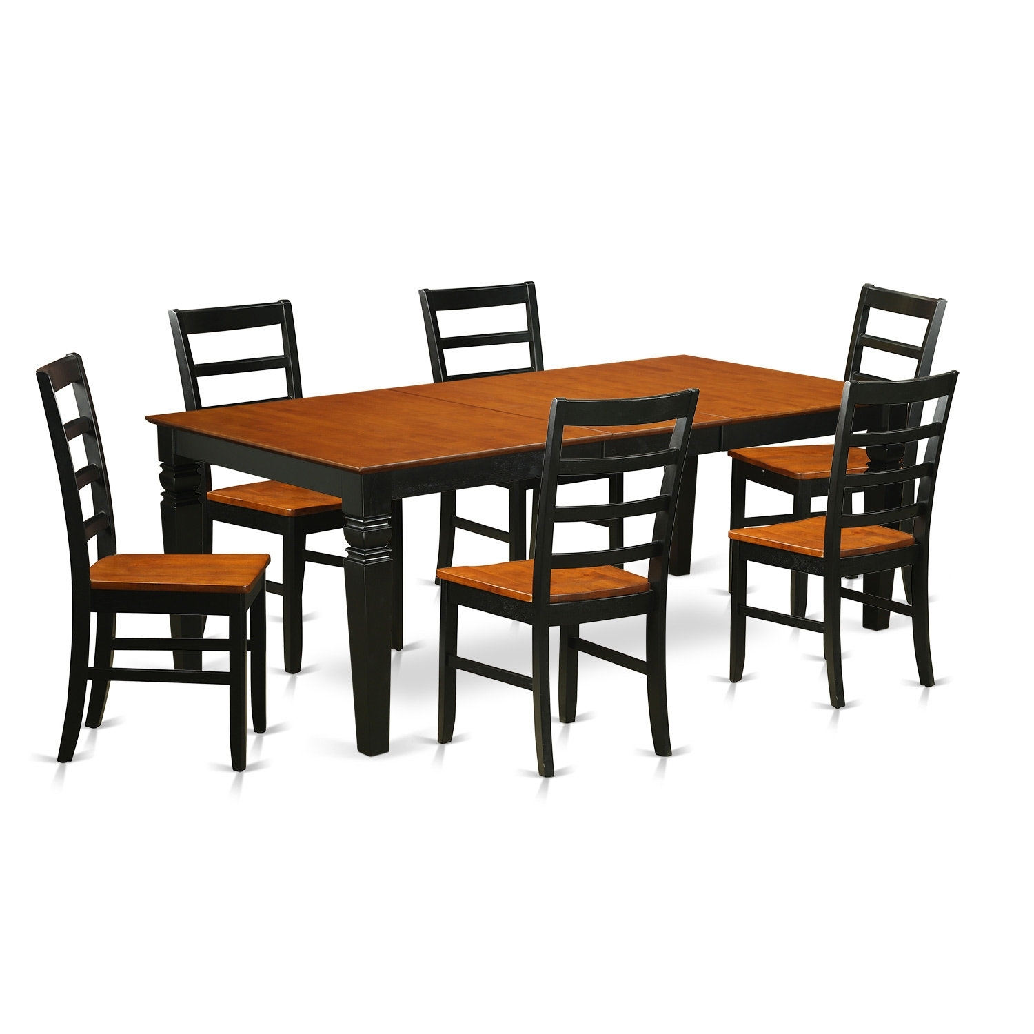 Wooden Importers Logan 7 Piece Dining Set | Wayfair In Most Current Logan 7 Piece Dining Sets (Image 20 of 20)