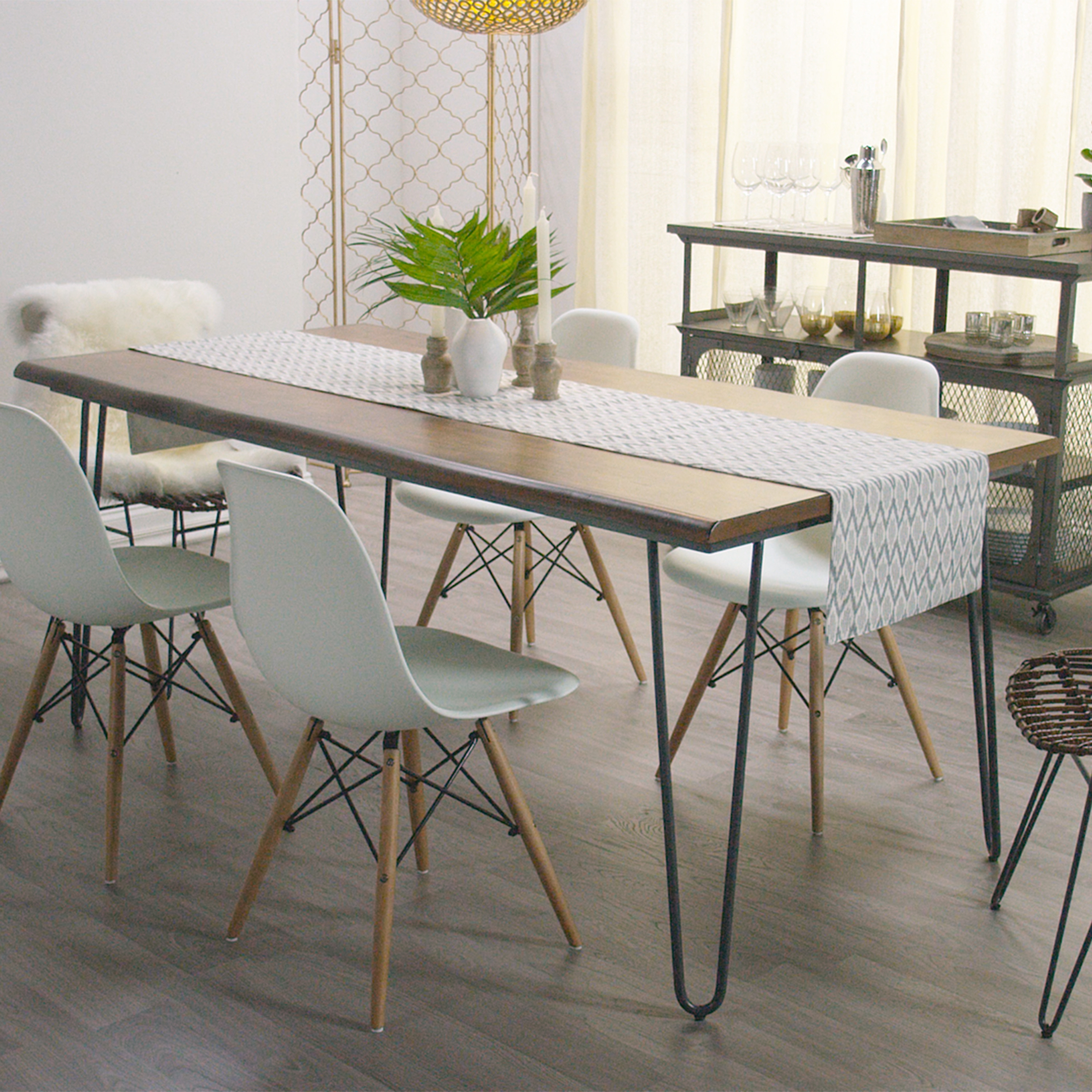 World Market Bedroom Furniture Dining Table Distressed Wood Regarding Most Popular Market Dining Tables (Image 18 of 20)