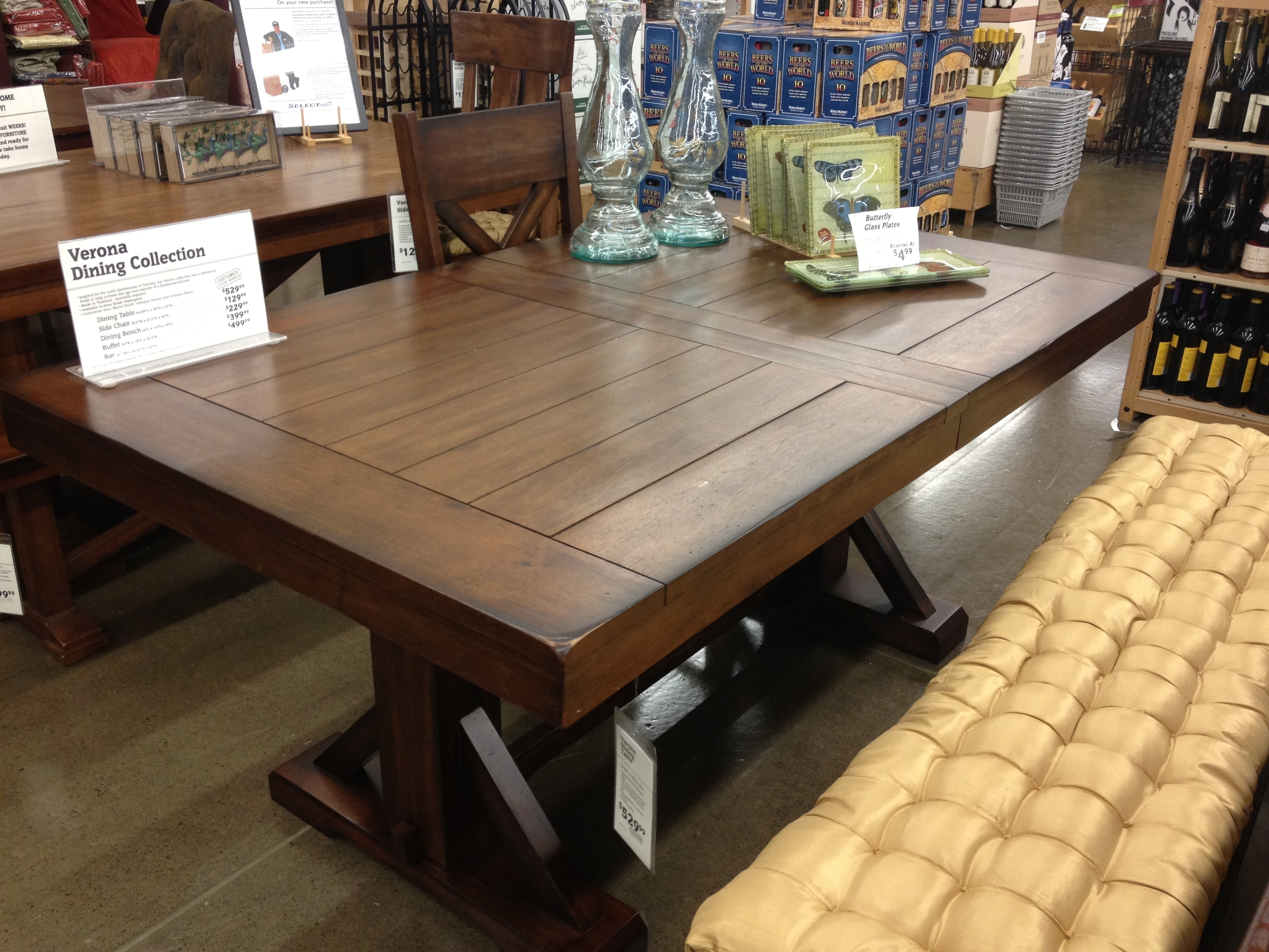 World Market Dining Table Enchanting Decor Dining Room Table World In Most Popular Market Dining Tables (View 3 of 20)
