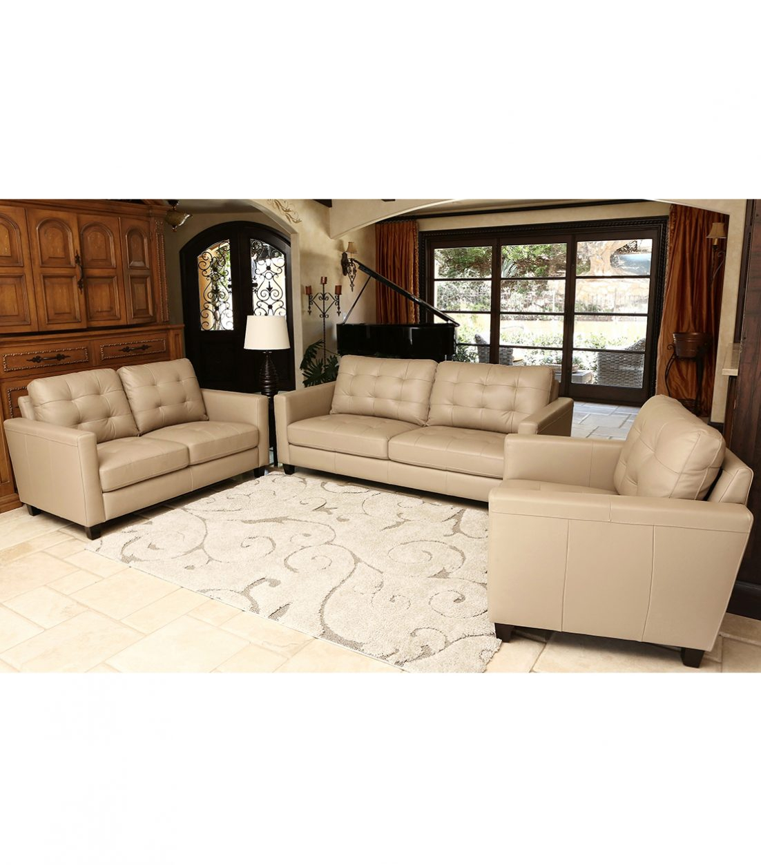 3 Piece Living Room Set Casta Products Pinterest Sofa And Small For Mcdade Ash Sofa Chairs (Photo 10 of 20)