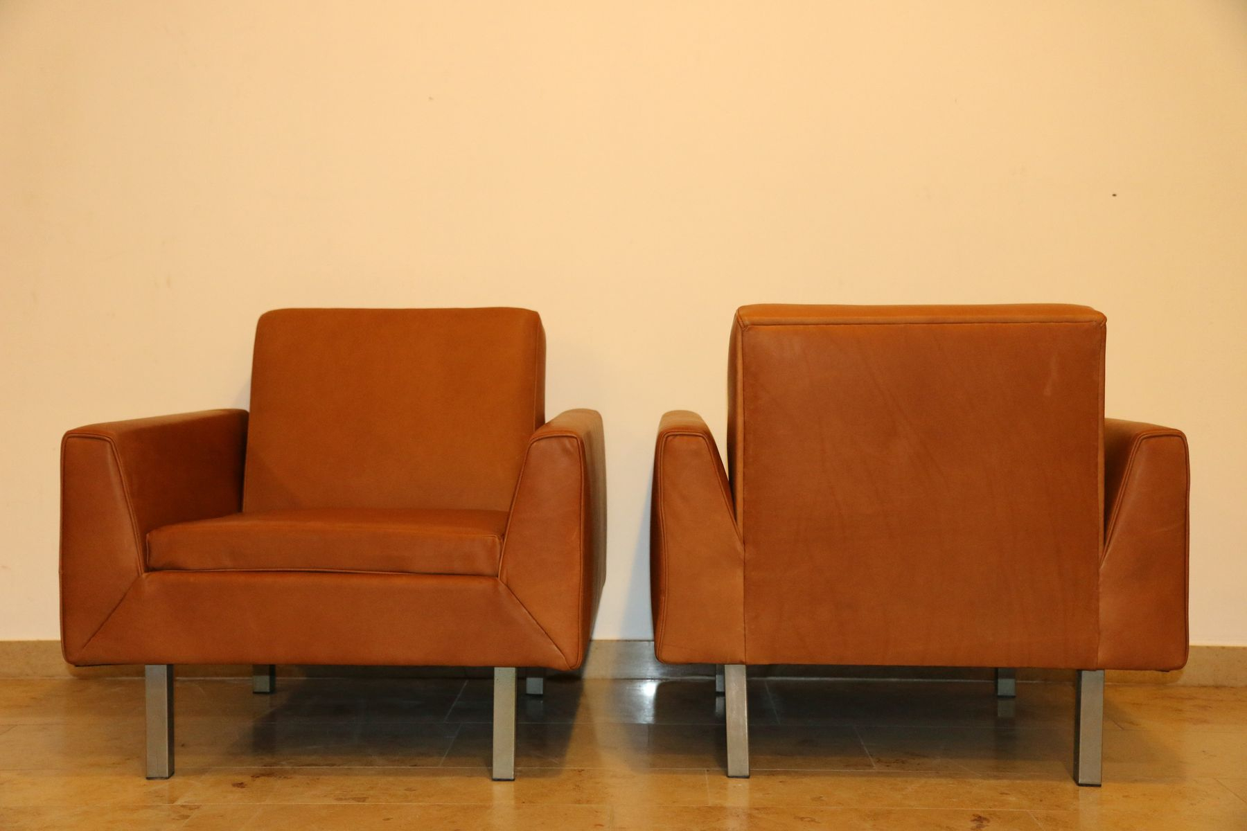 410 Club Chairstheo Ruth For Artifort, 1956, Set Of 2 For Sale Pertaining To Theo Ii Swivel Chairs (Photo 14 of 20)