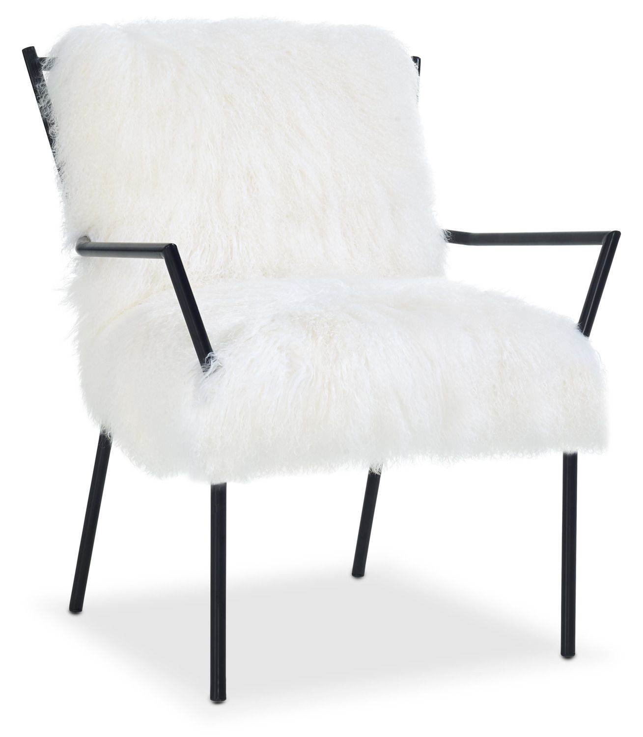 Accent And Occasional Furniture – Lara Accent Chair – Black And Throughout Circuit Swivel Accent Chairs (Image 1 of 20)