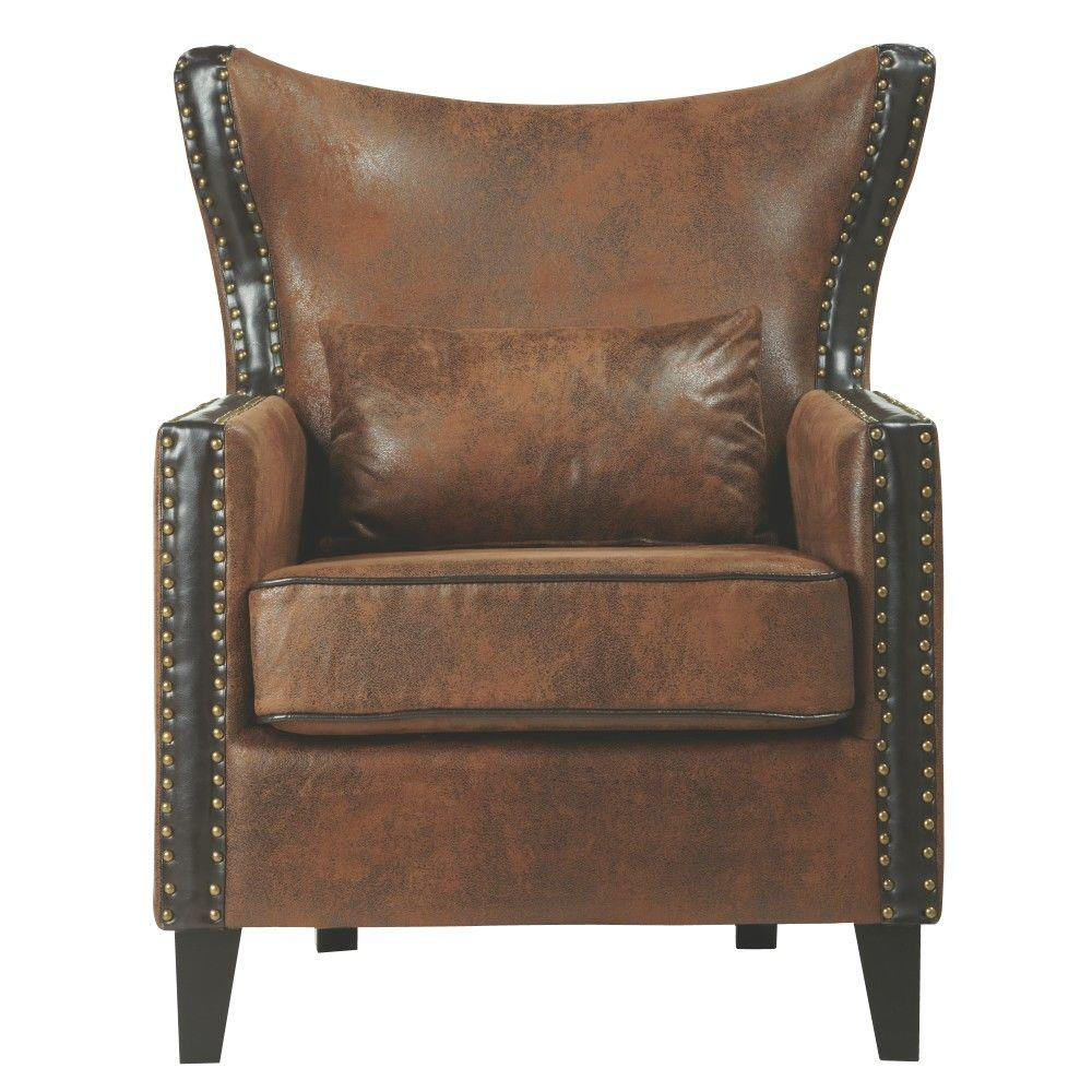Accent Chairs – Chairs – The Home Depot Pertaining To Devon Ii Swivel Accent Chairs (Image 2 of 20)