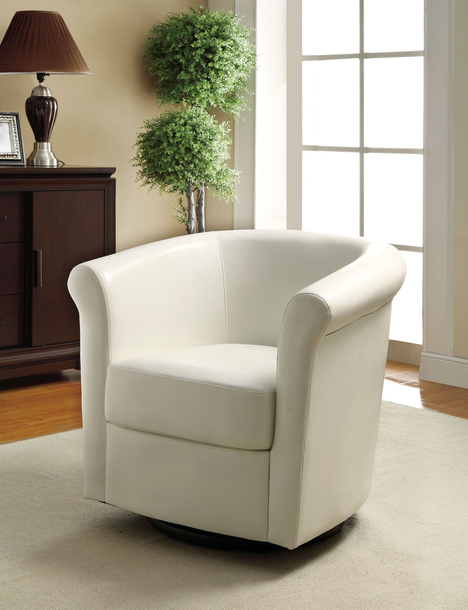 20 Inspirations Twirl Swivel Accent Chairs