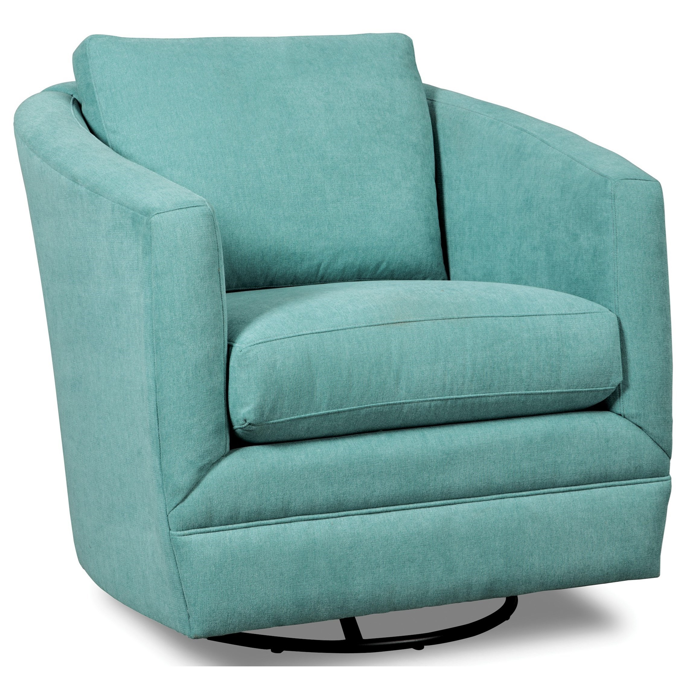 Accent Chairs Swivel Barrel Chair | Stoney Creek Furniture Pertaining To Umber Grey Swivel Accent Chairs (Image 1 of 20)