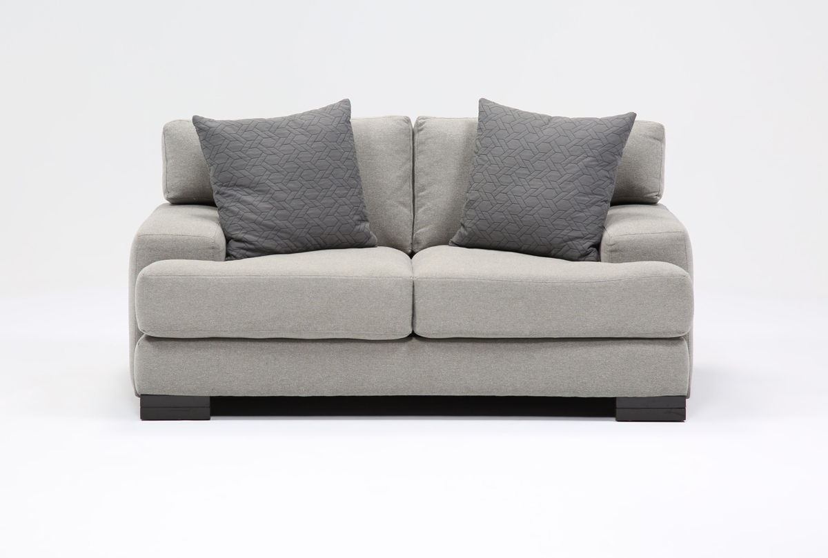 Aidan Loveseat | Living Spaces For Aidan Ii Sofa Chairs (Image 8 of 20)