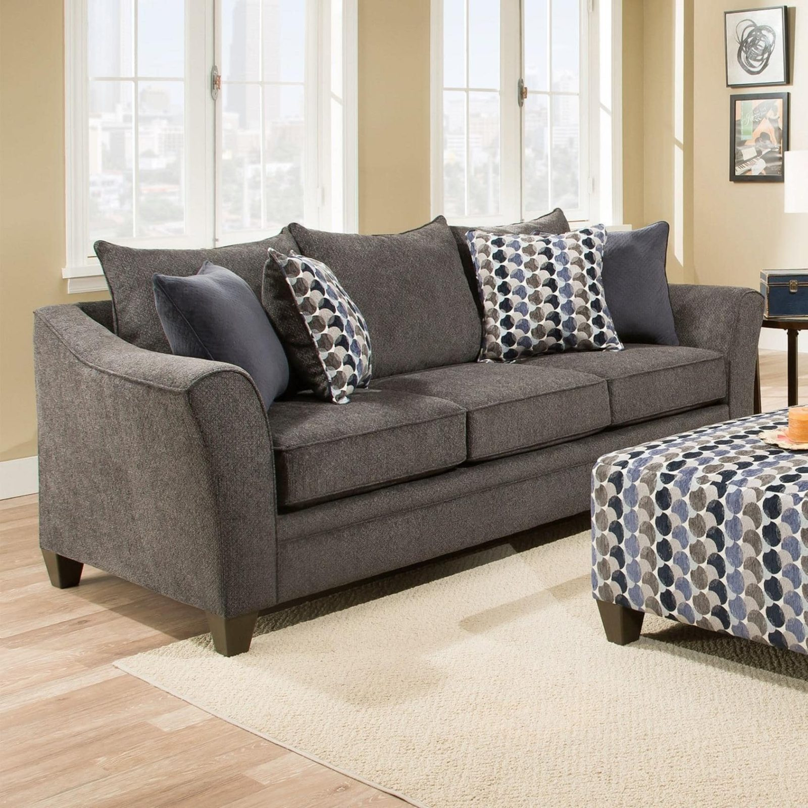 Aidan Sofa – Furniture & More Within Aidan Ii Sofa Chairs (Image 10 of 20)